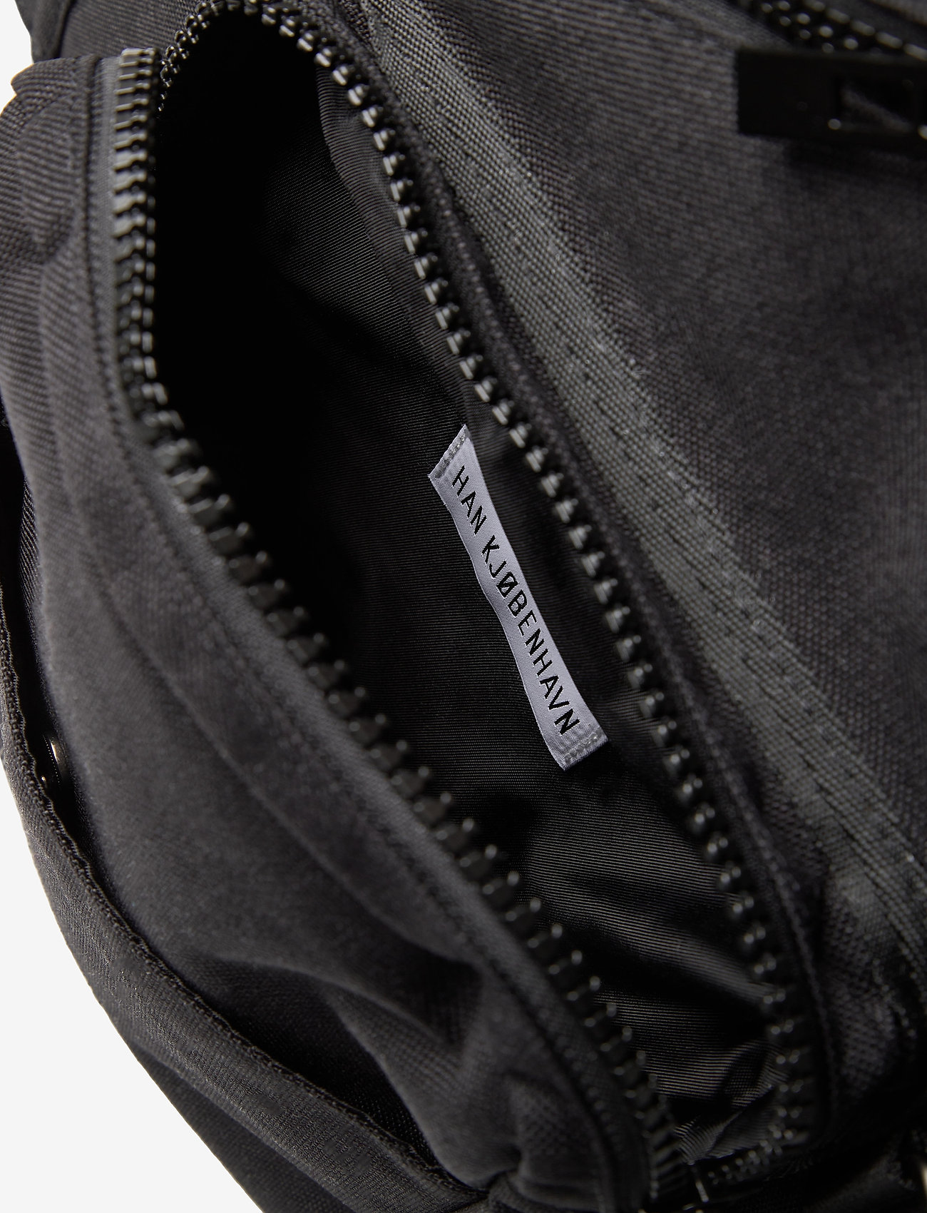 HAN Kjøbenhavn - Triangle Bag - heuptassen - black cordura nylon - 3