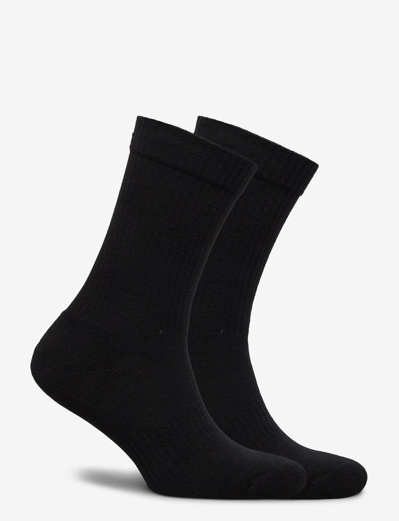 HAN Kjøbenhavn - HK - 2 pack socks - kousen - white logo - 0