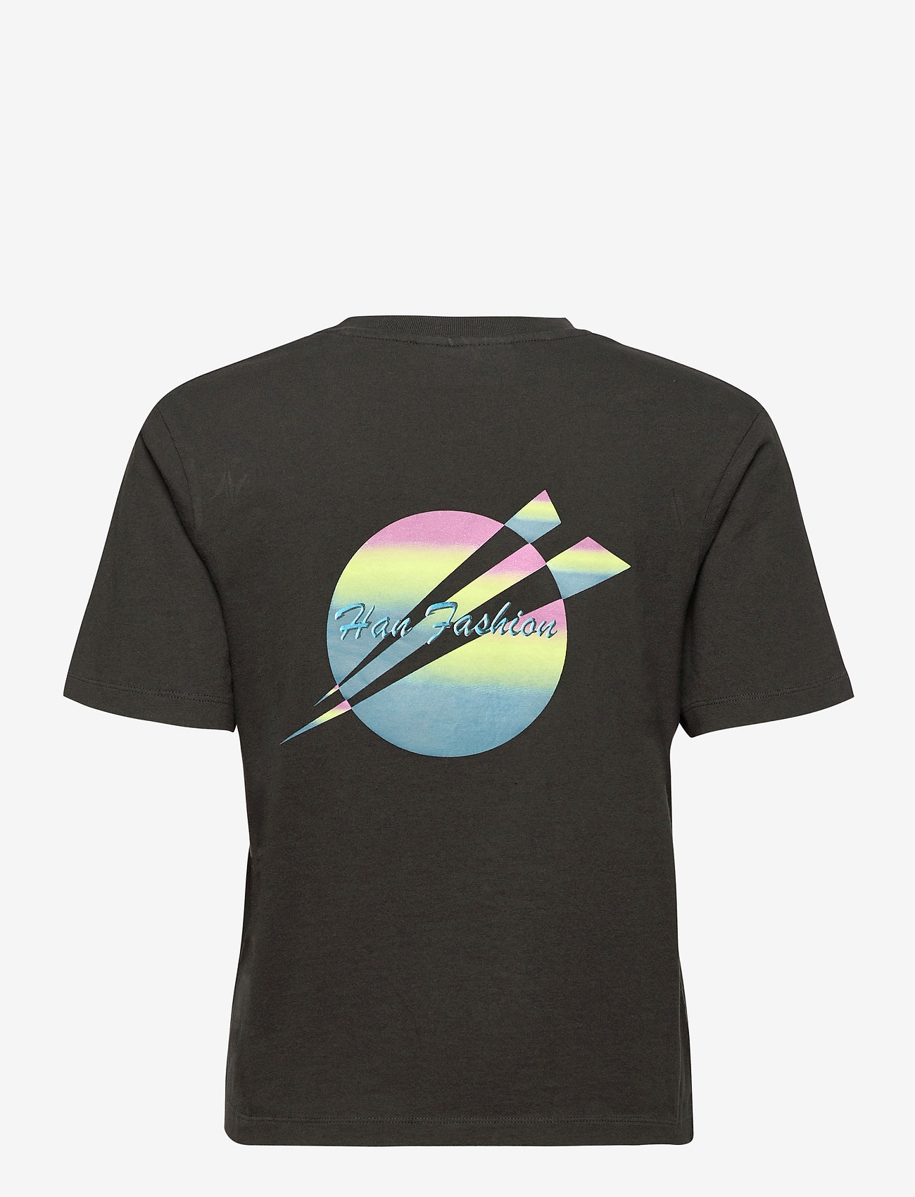 HAN Kjøbenhavn - Artwork Tee - t-shirts - faded black - 1