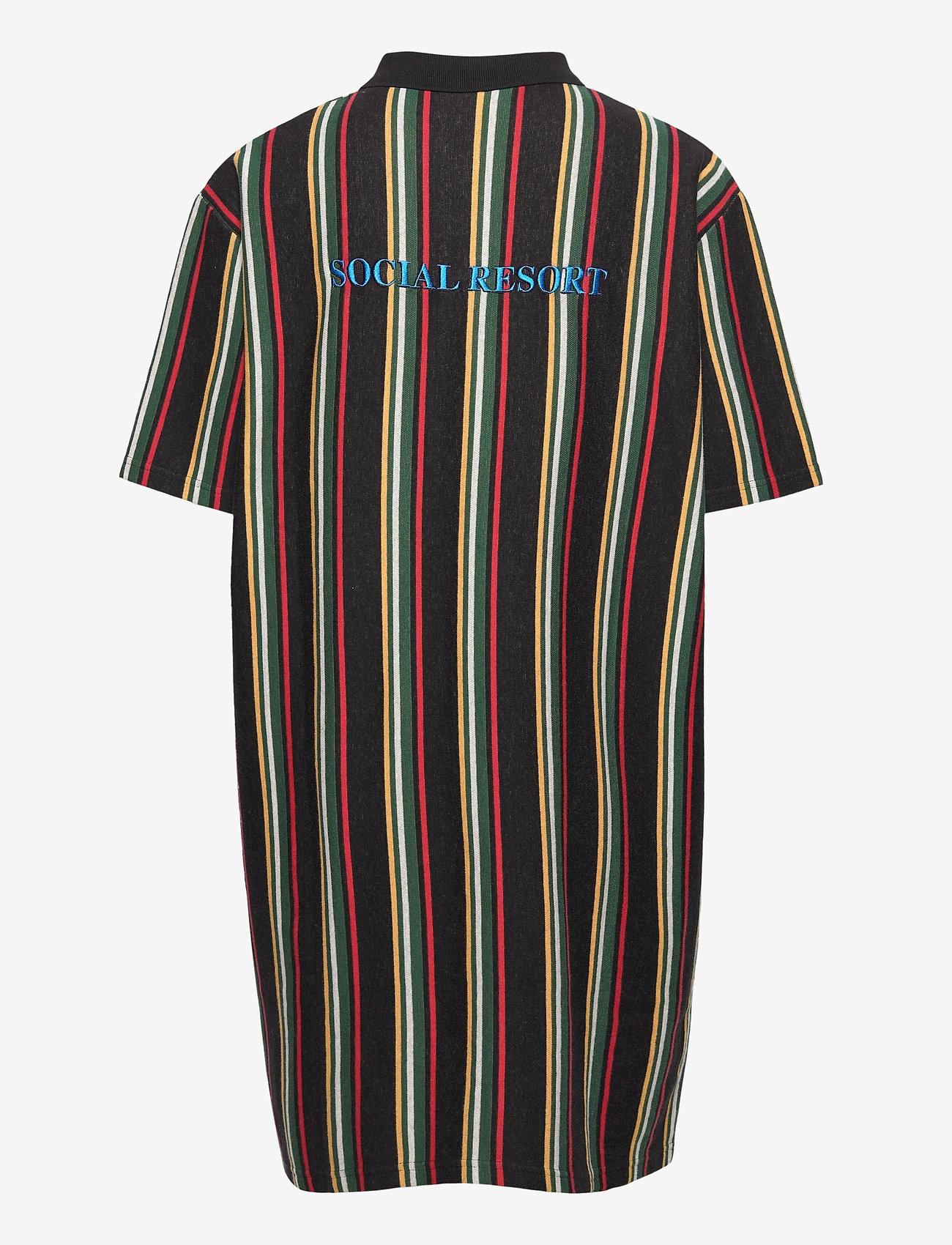 HAN Kjøbenhavn - Polo Dress - tshirt jurken - faded black - 1