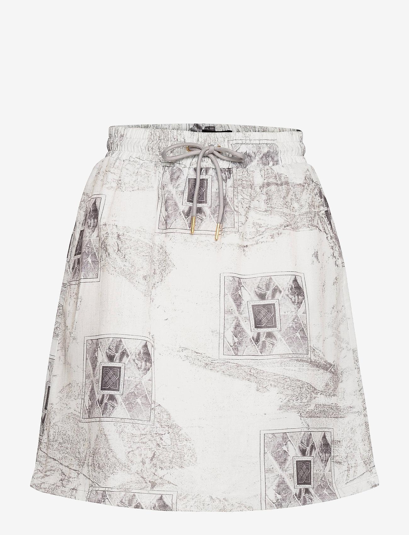 HAN Kjøbenhavn - Track Skirt - korta kjolar - bleach diamond - 0