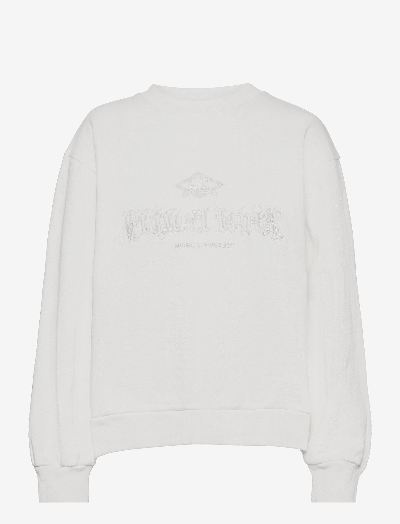 HAN Kjøbenhavn - Bulky Crew - sweatshirts - off white - 0