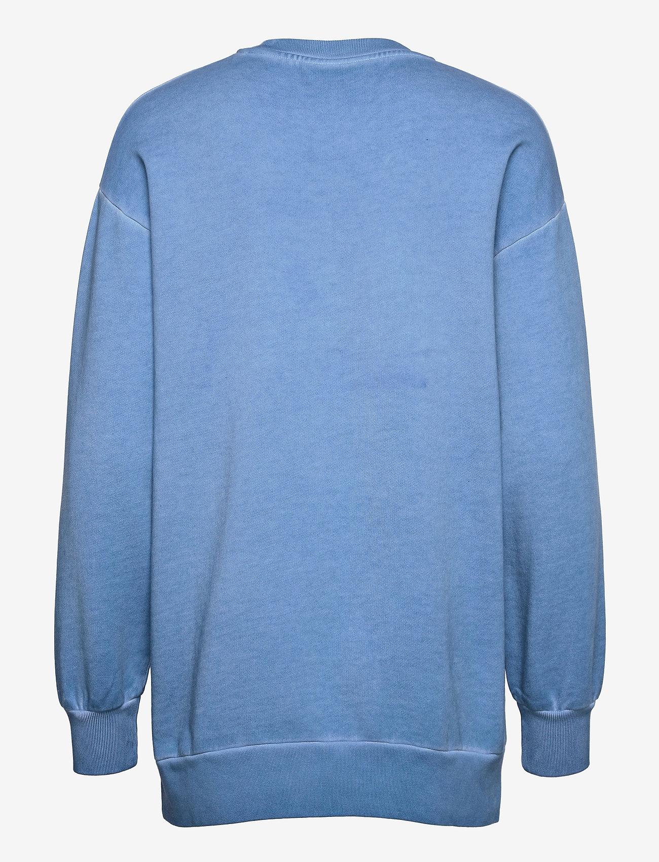 HAN Kjøbenhavn - Relaxed Crew - sweatshirts - faded blue - 1