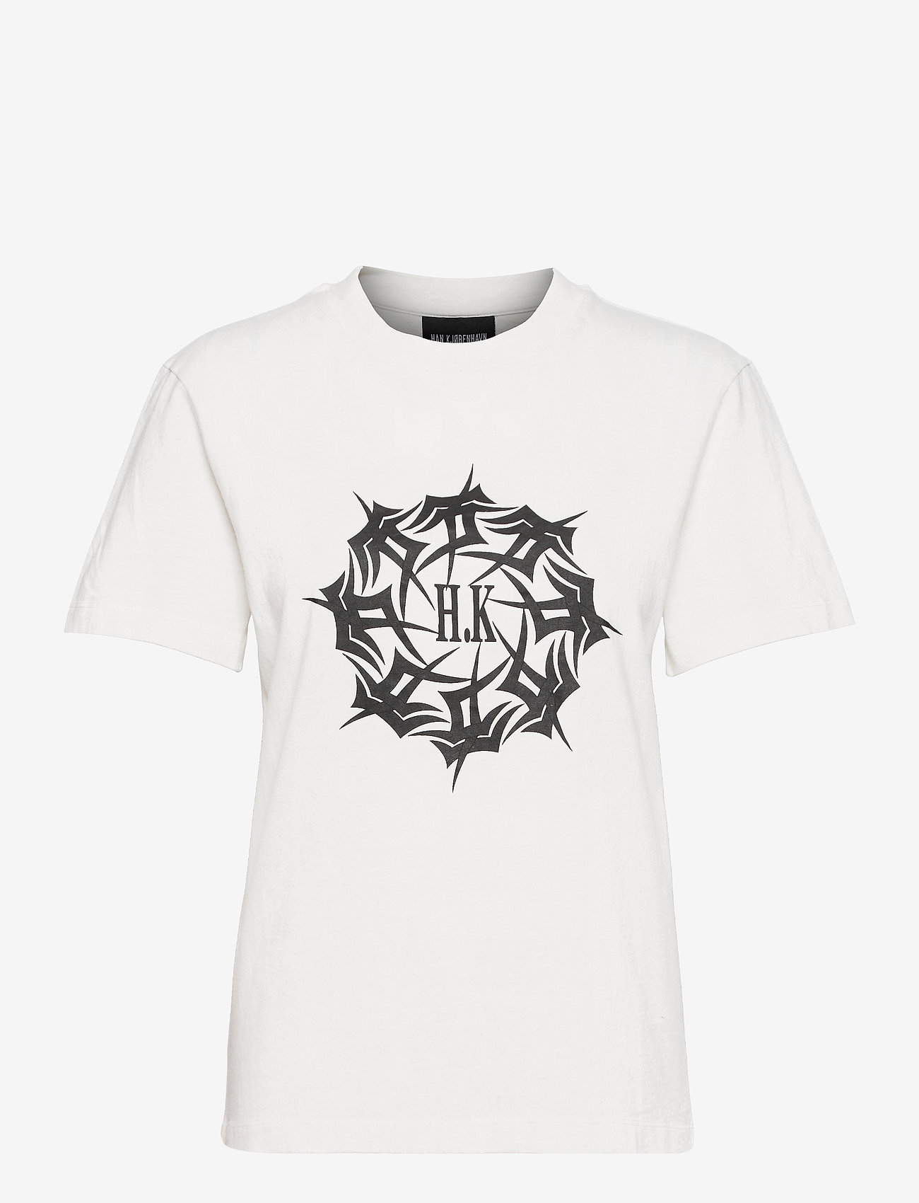 HAN Kjøbenhavn - Artwork Tee - t-shirts - off white - 0