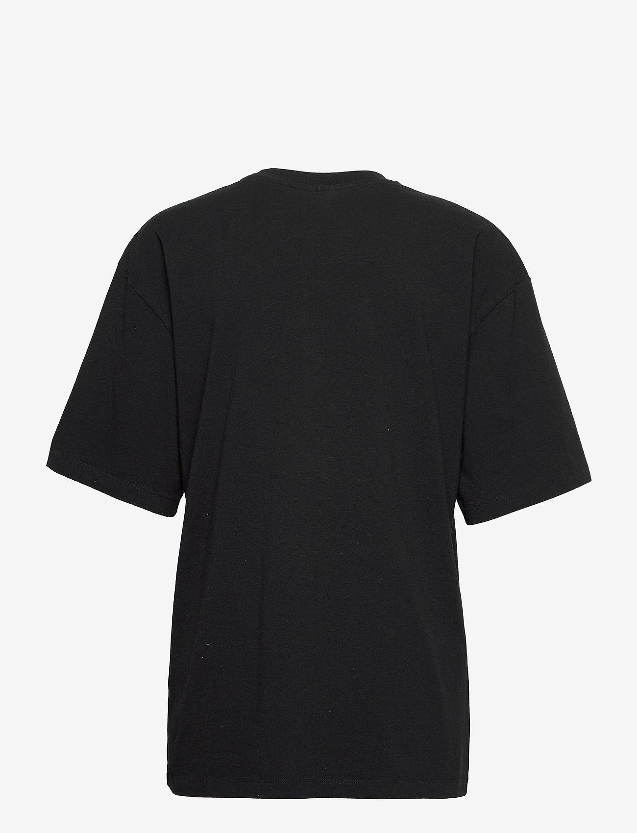 HAN Kjøbenhavn - Boyfriend Tee - t-shirts - faded black hk - 1