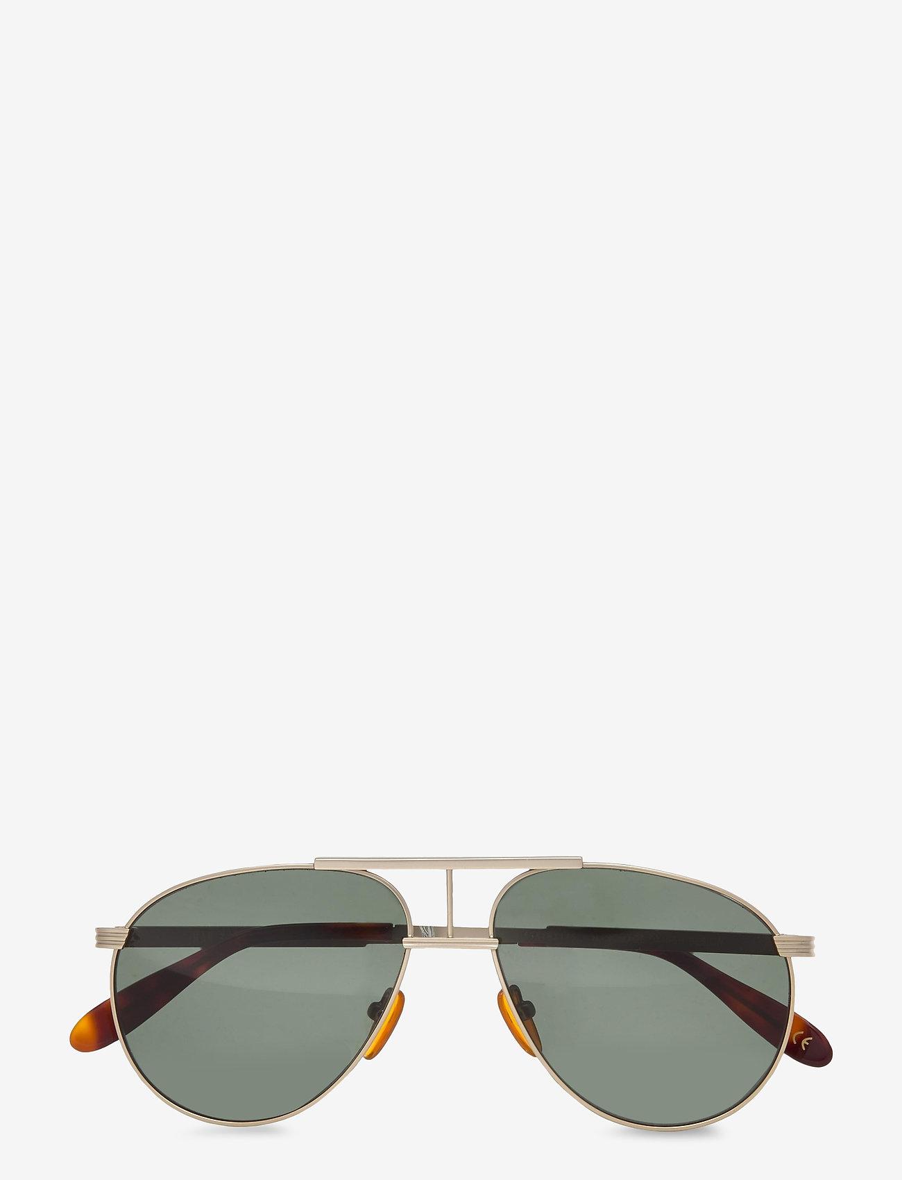 HAN Kjøbenhavn - High - ronde zonnebril - matte gold - 0