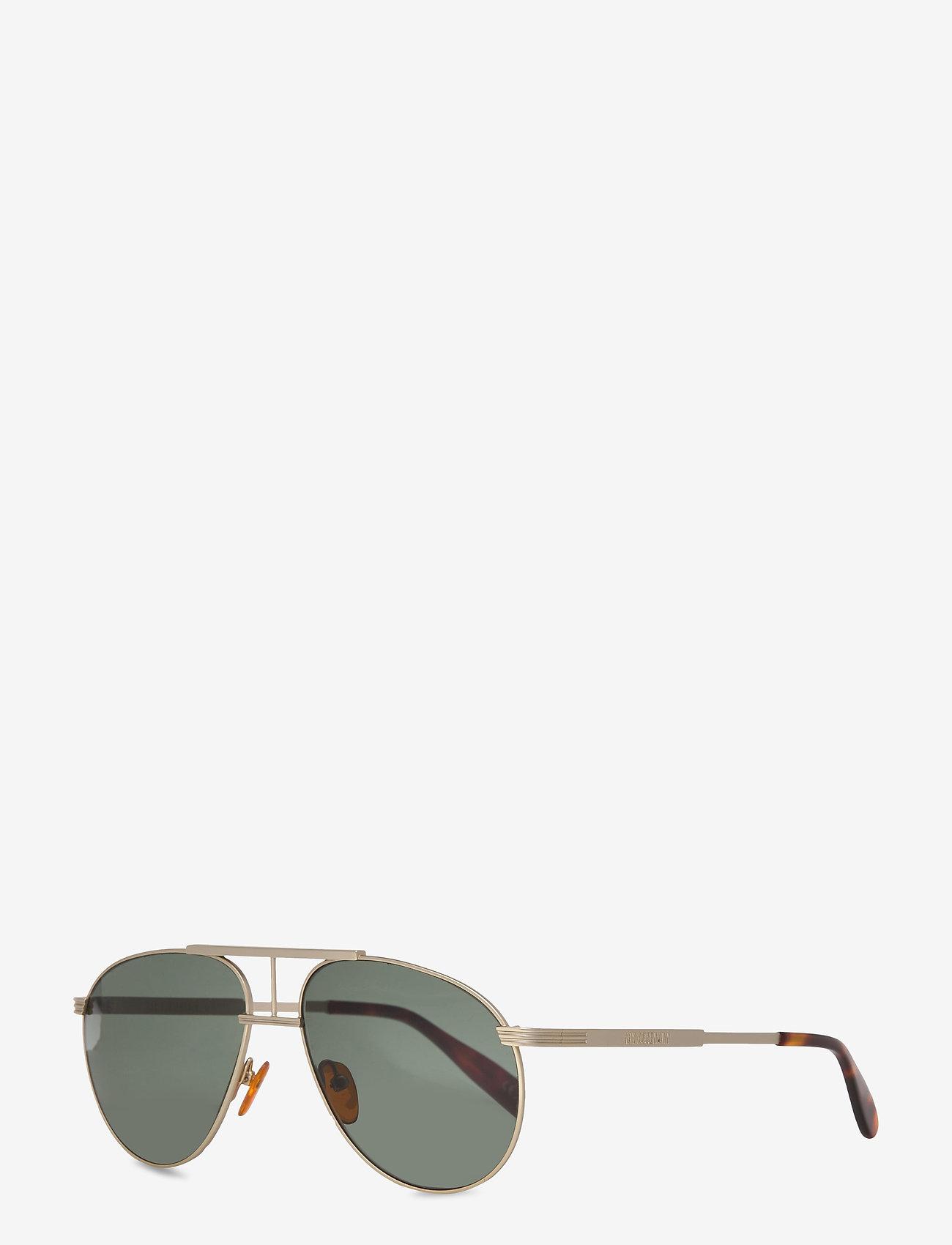 HAN Kjøbenhavn - High - ronde zonnebril - matte gold - 1