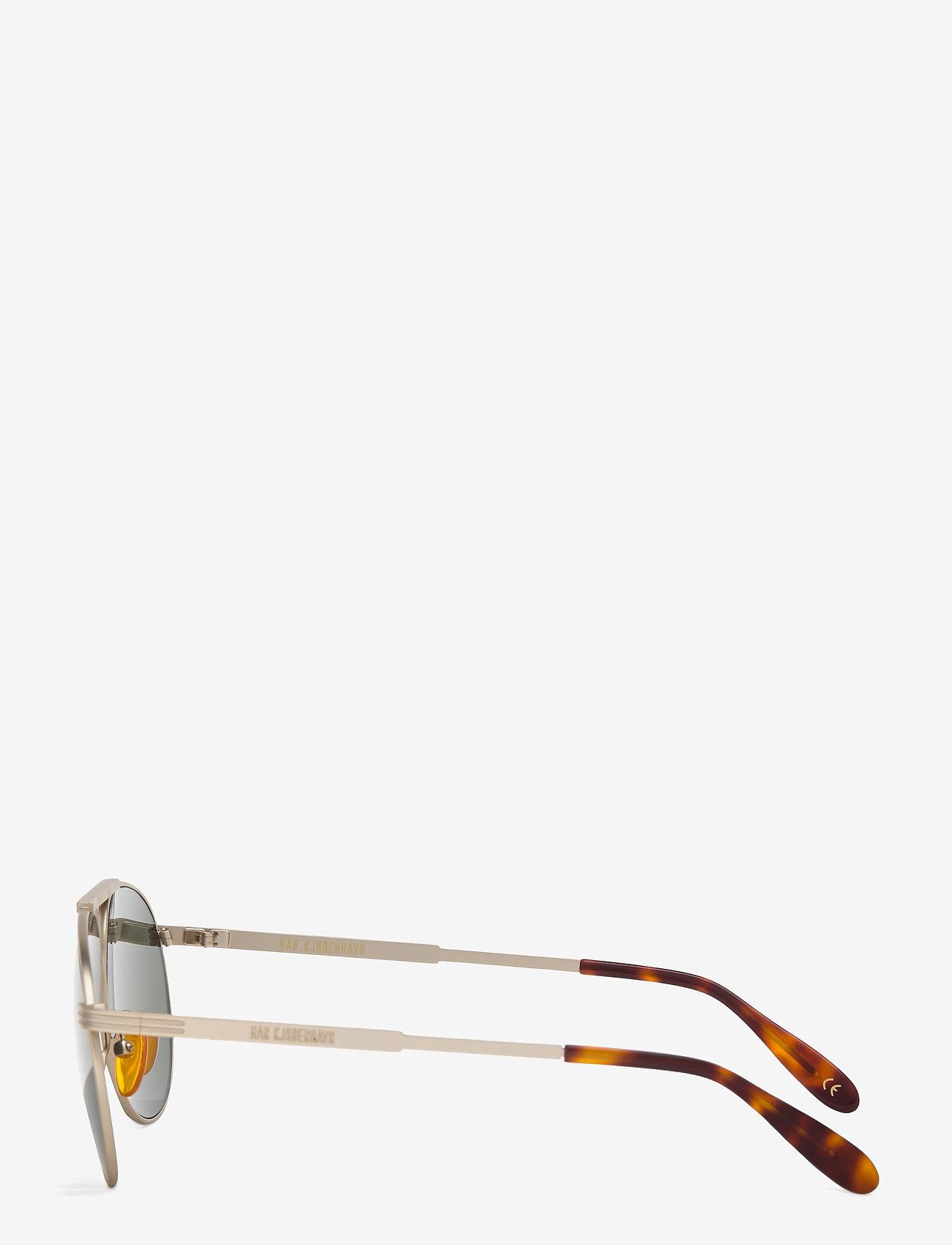 HAN Kjøbenhavn - High - ronde zonnebril - matte gold - 2