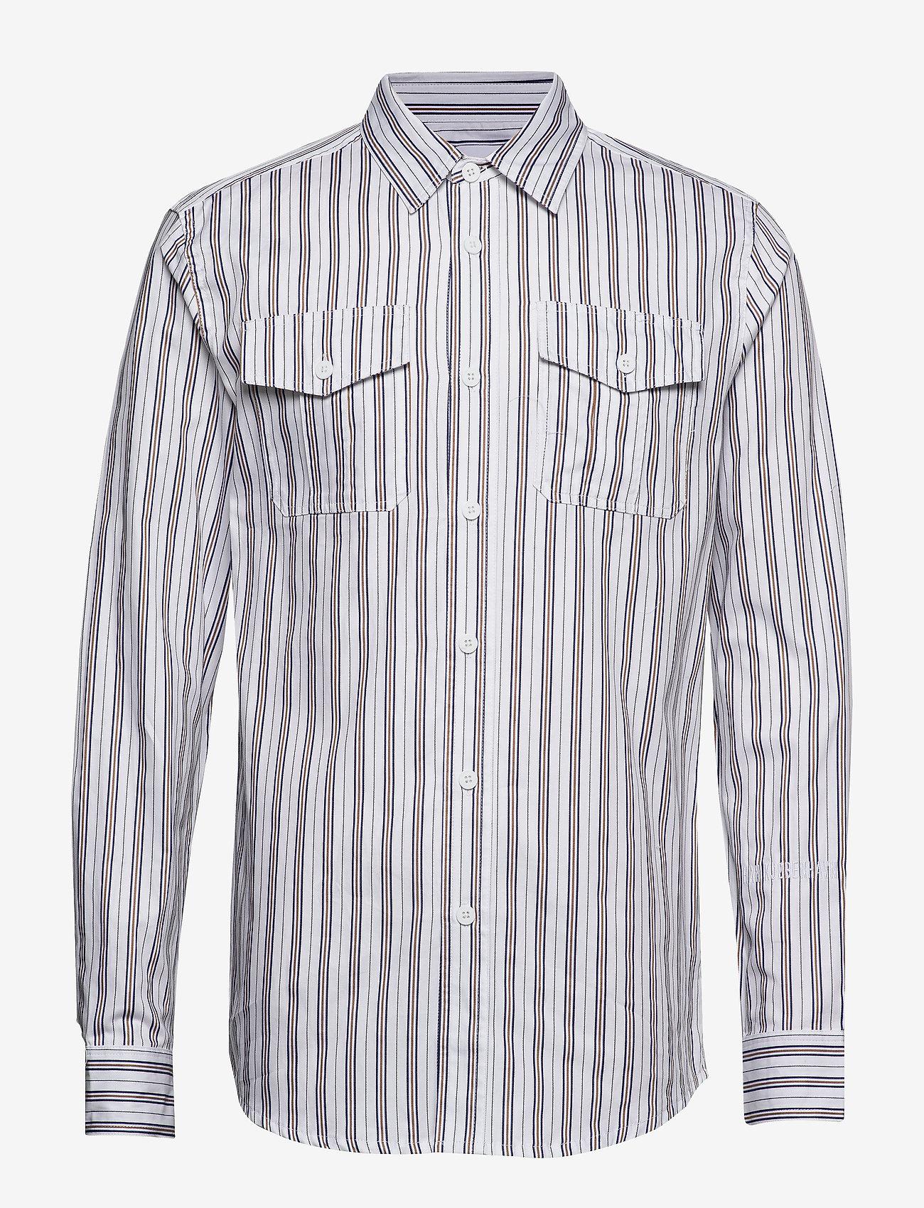 HAN Kjøbenhavn - Garden Shirt - casual overhemden - triple stripe - 0