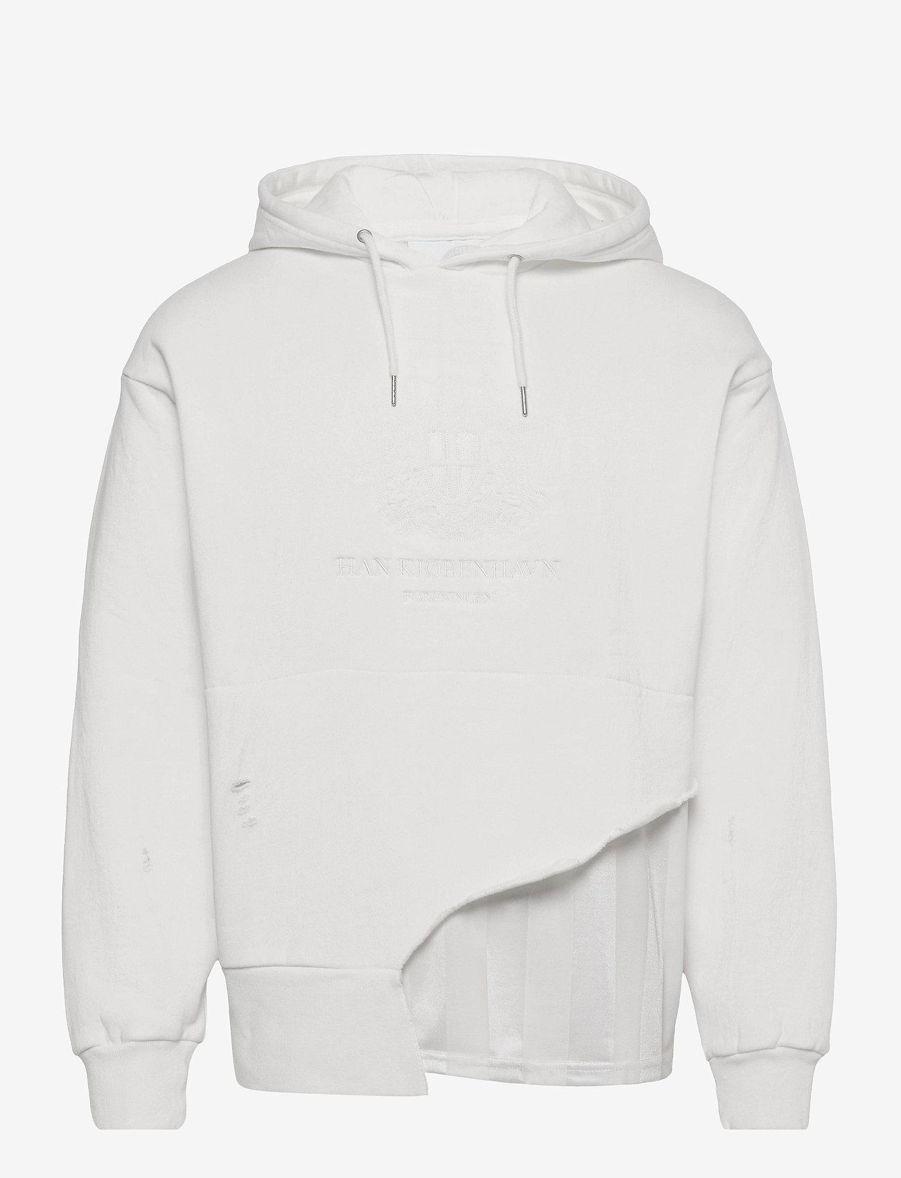 HAN Kjøbenhavn - Bulky Hoodie - basic sweatshirts - ravage off white - 0