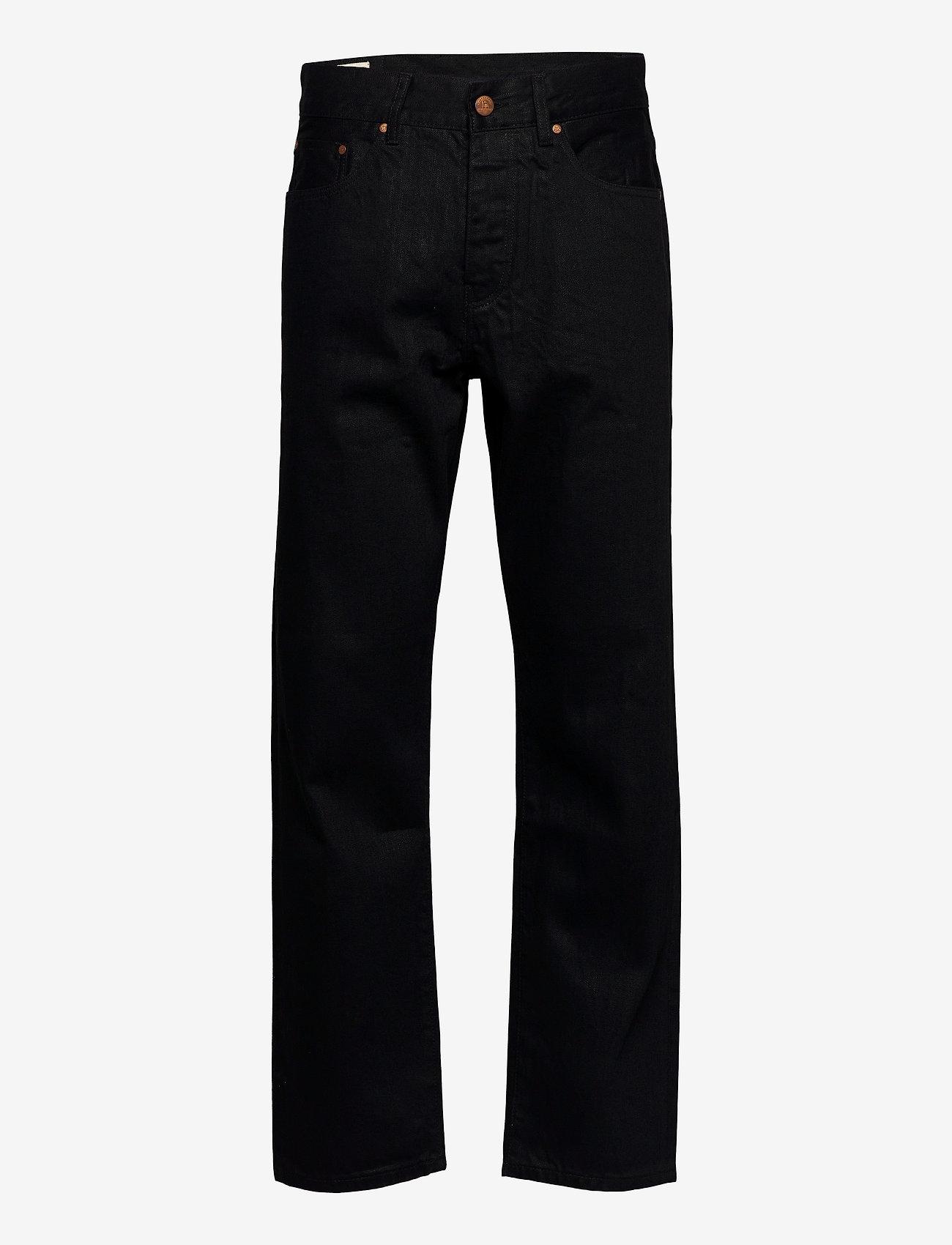 HAN Kjøbenhavn - Relaxed Jeans - regular jeans - black black - 0
