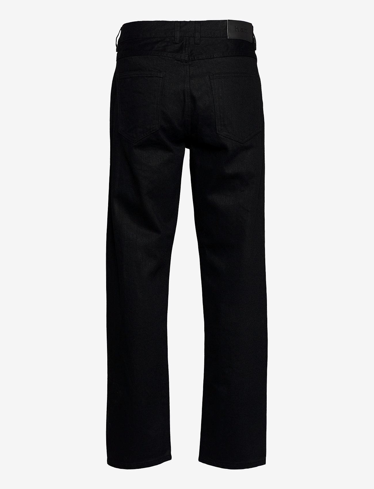 HAN Kjøbenhavn - Relaxed Jeans - regular jeans - black black - 1