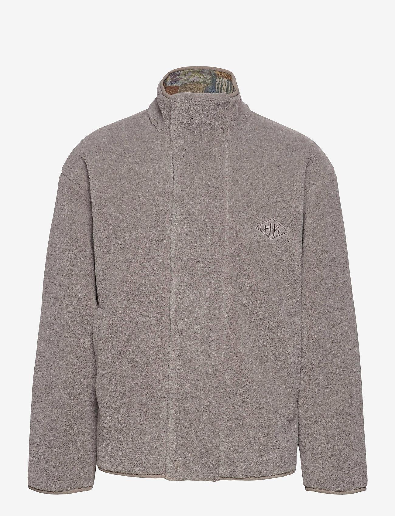 HAN Kjøbenhavn - Track Fleece - dark grey - 0
