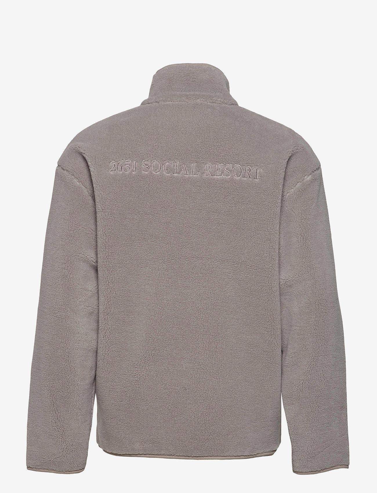 HAN Kjøbenhavn - Track Fleece - podstawowe bluzy - dark grey - 1
