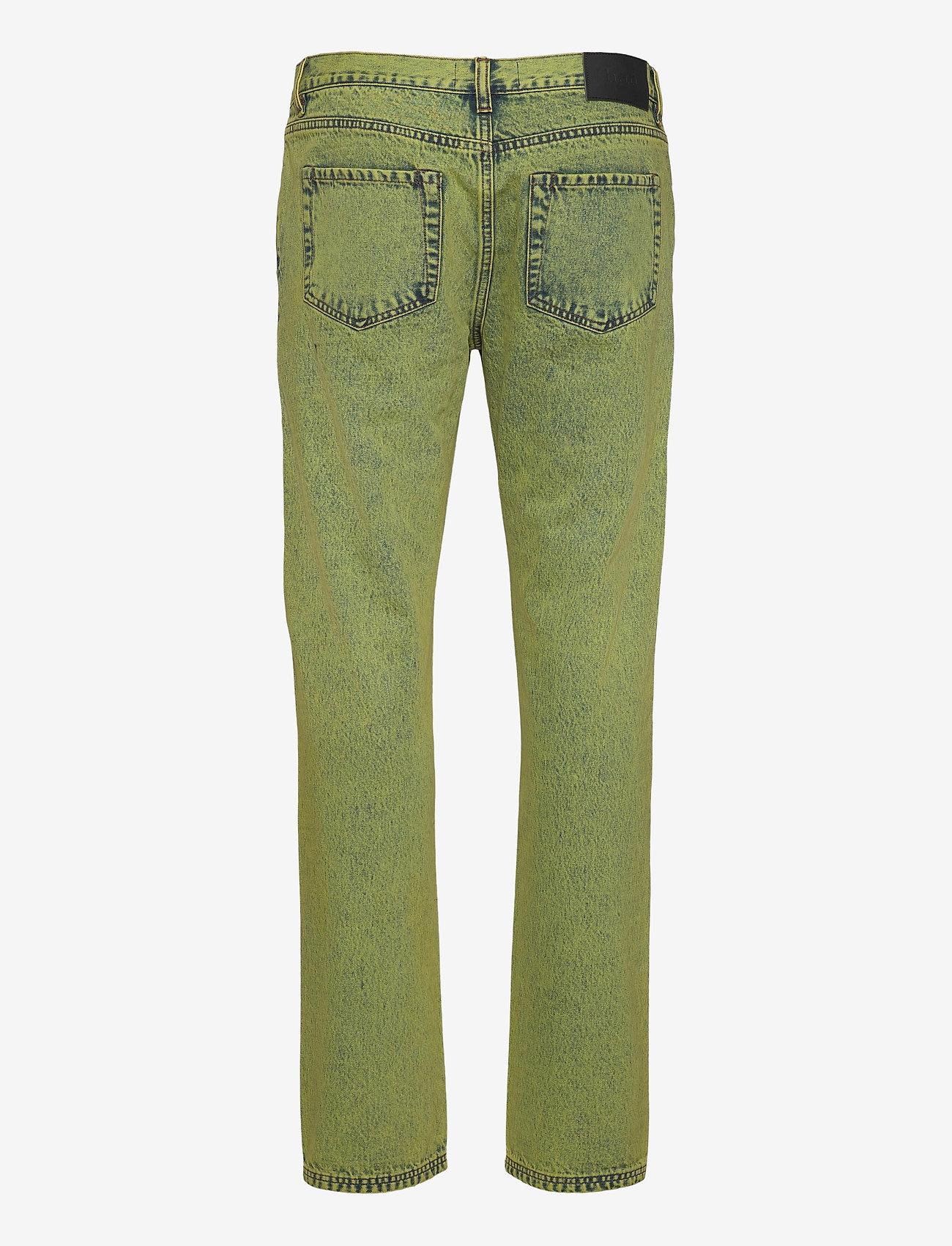 HAN Kjøbenhavn - Denim Jeans - slim jeans - lime - 1