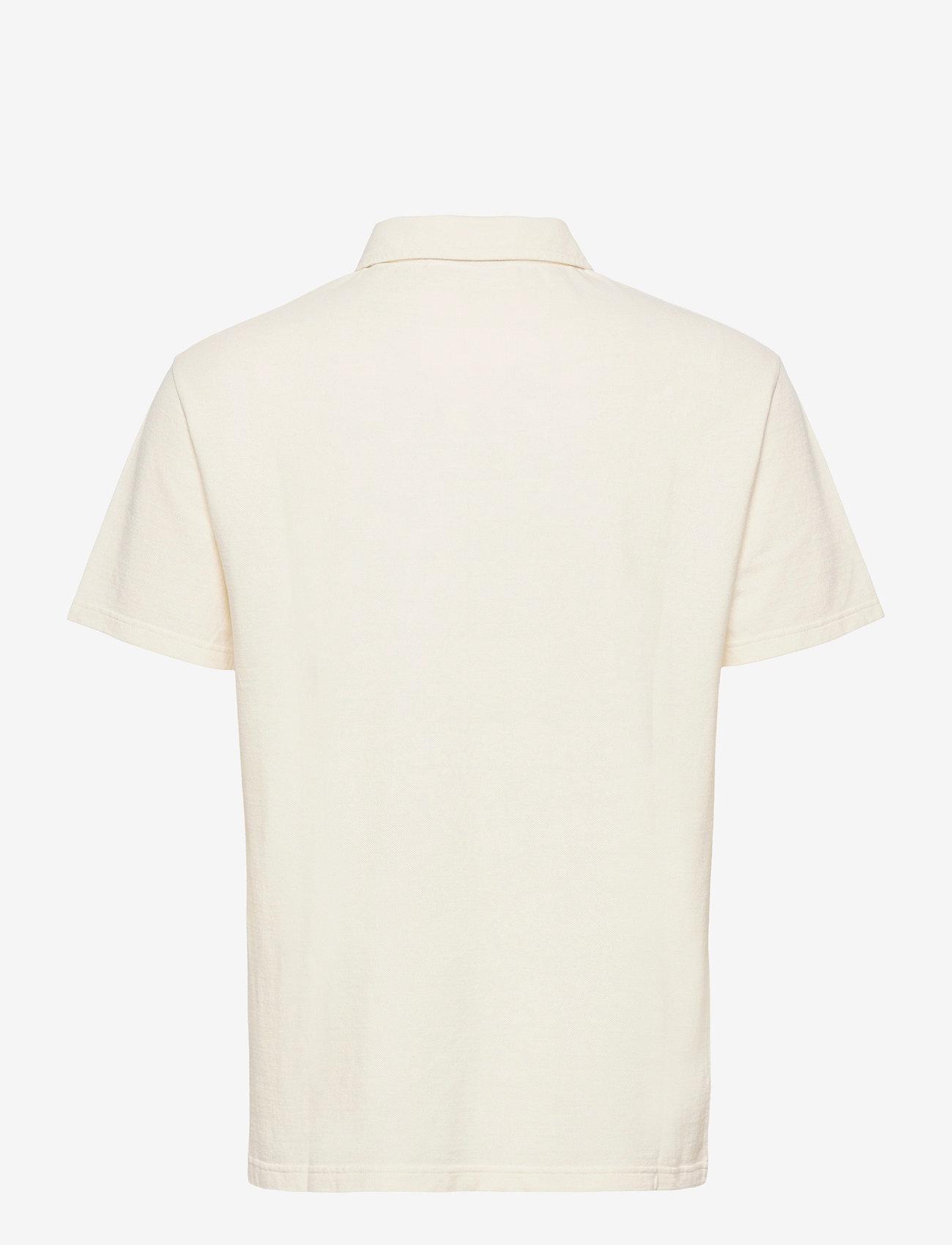 HAN Kjøbenhavn - Polo Tee SS - korte mouwen - off white - 1