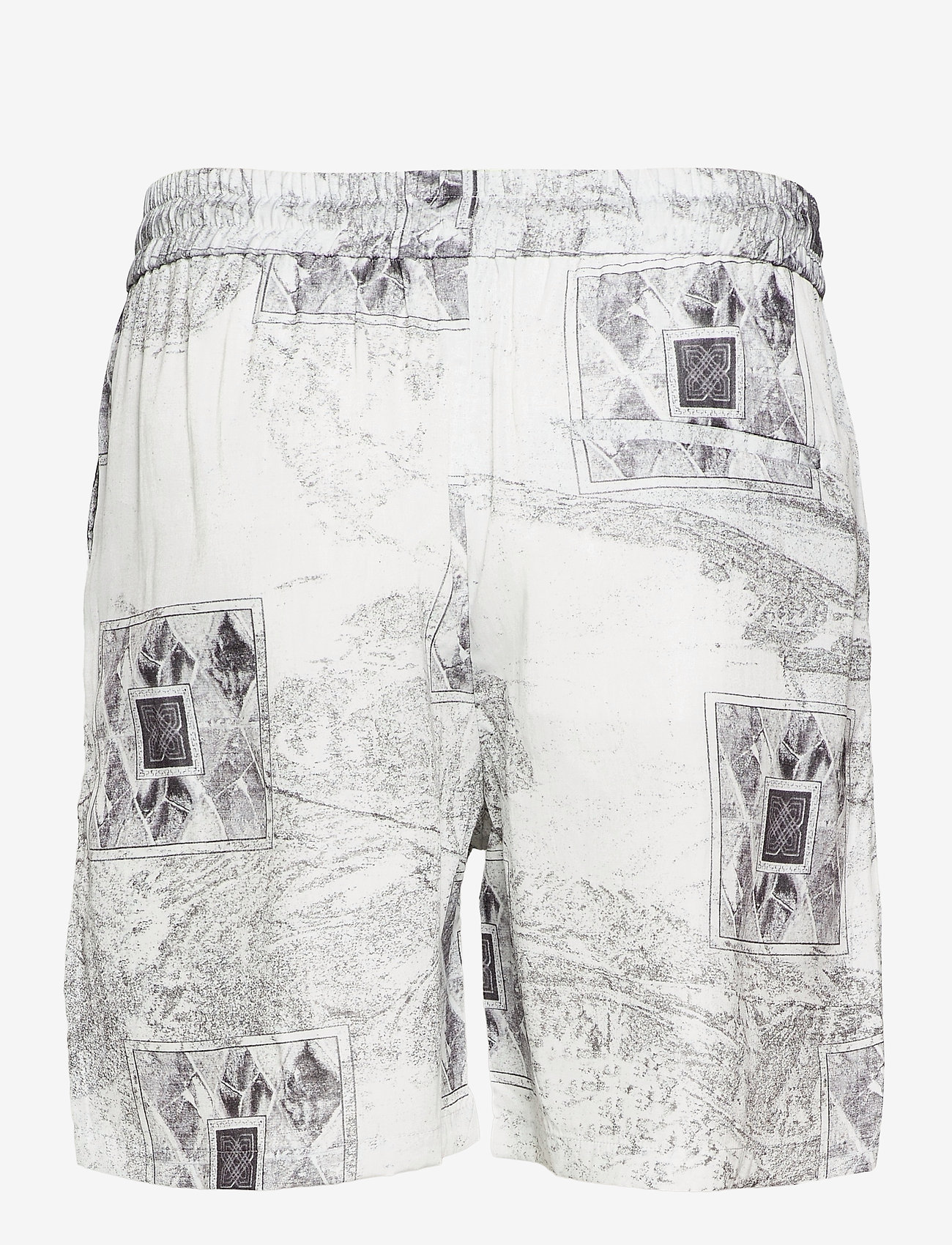 HAN Kjøbenhavn - Track Shorts - casual shorts - bleach diamond - 2