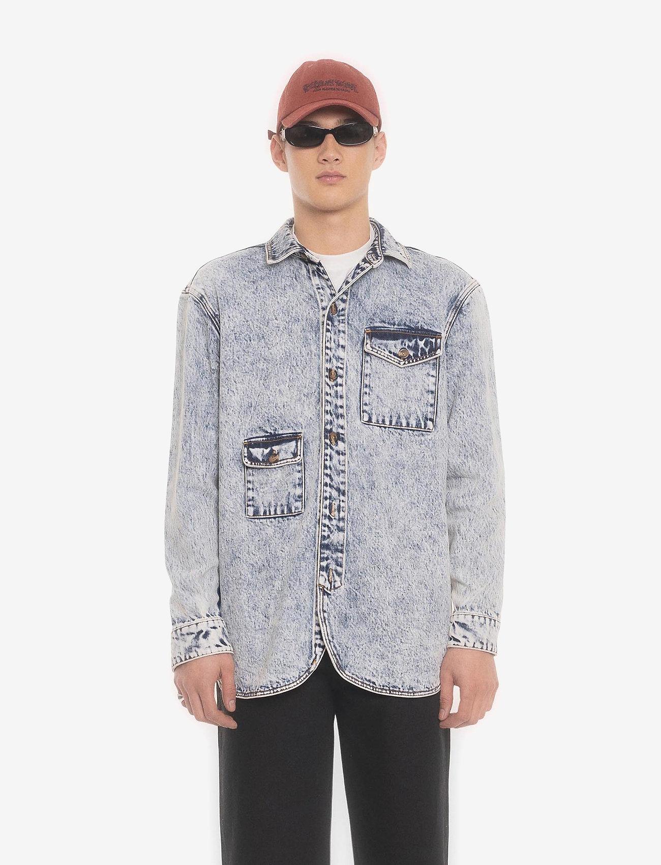 HAN Kjøbenhavn - Army Shirt - tops - grey - 0