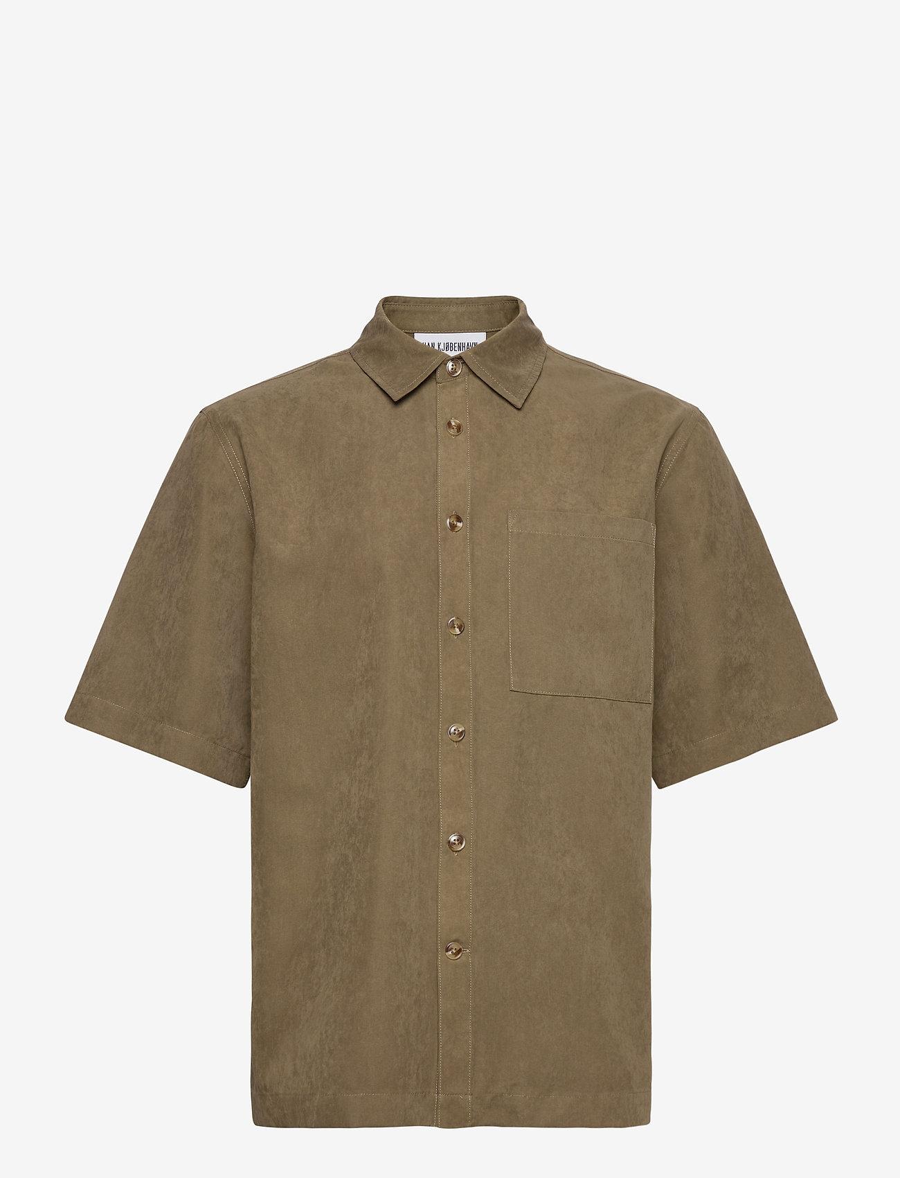 HAN Kjøbenhavn - Boxy Shirt SS - basic overhemden - grey - 1