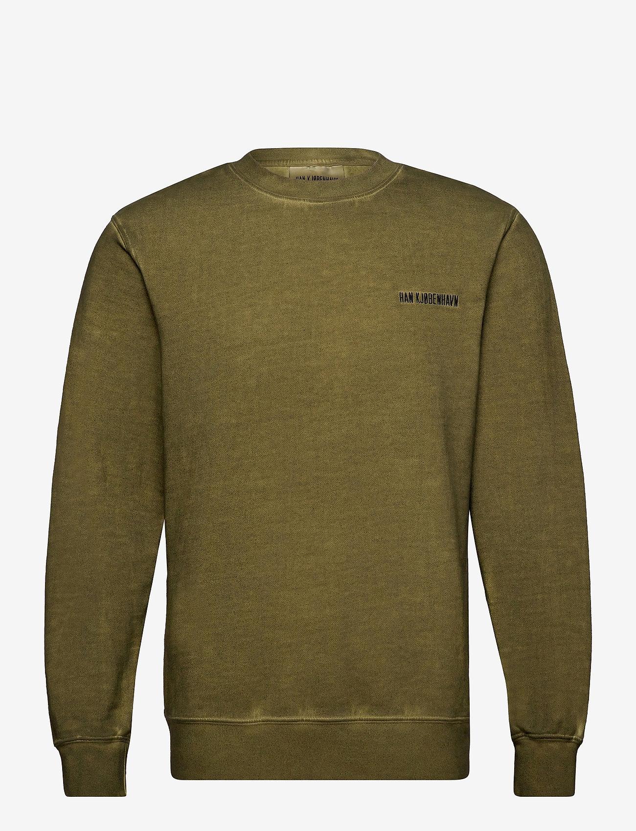 HAN Kjøbenhavn - Casual Crew - basic sweatshirts - green crush - 1