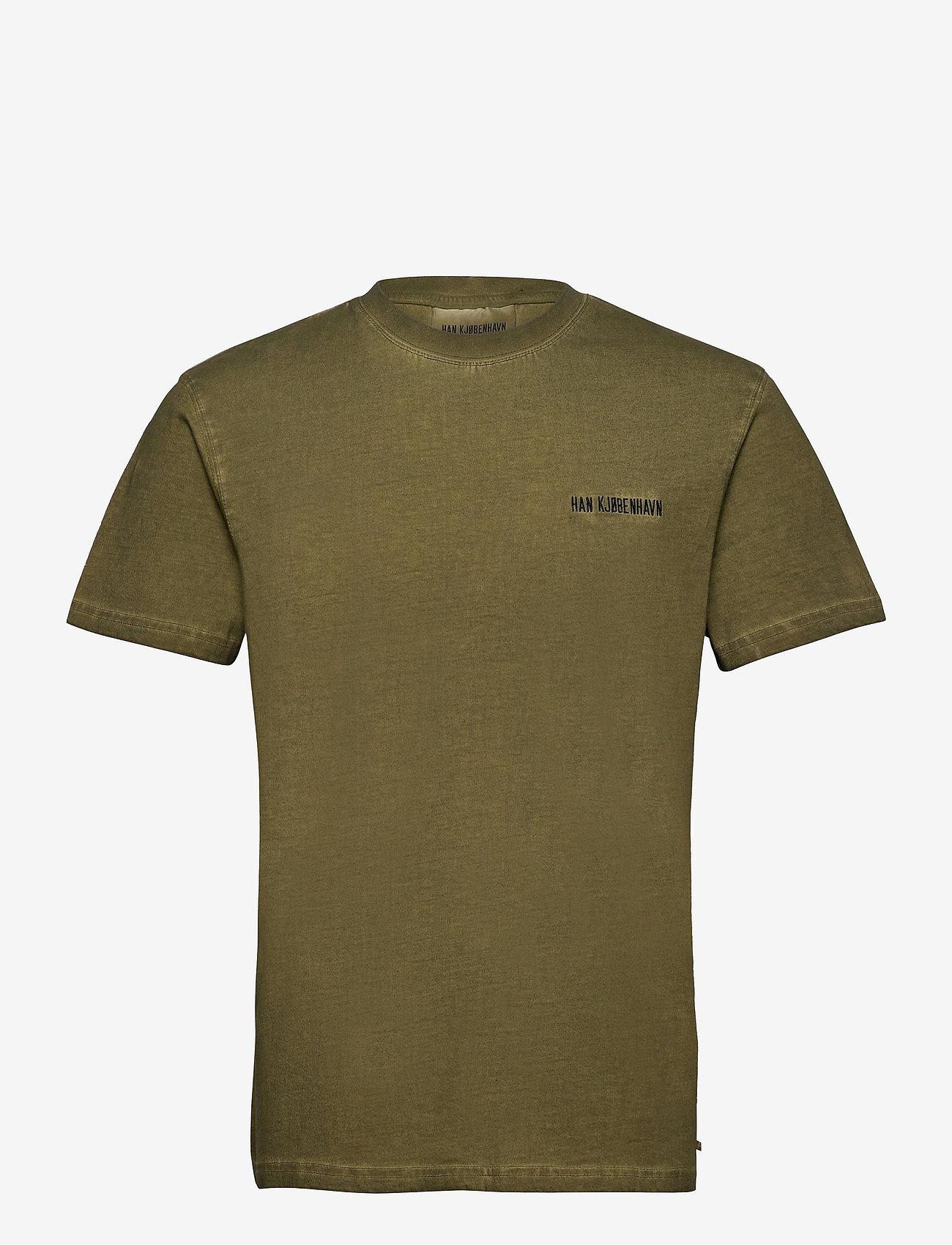 HAN Kjøbenhavn - Casual Tee - basic t-shirts - green crush - 1