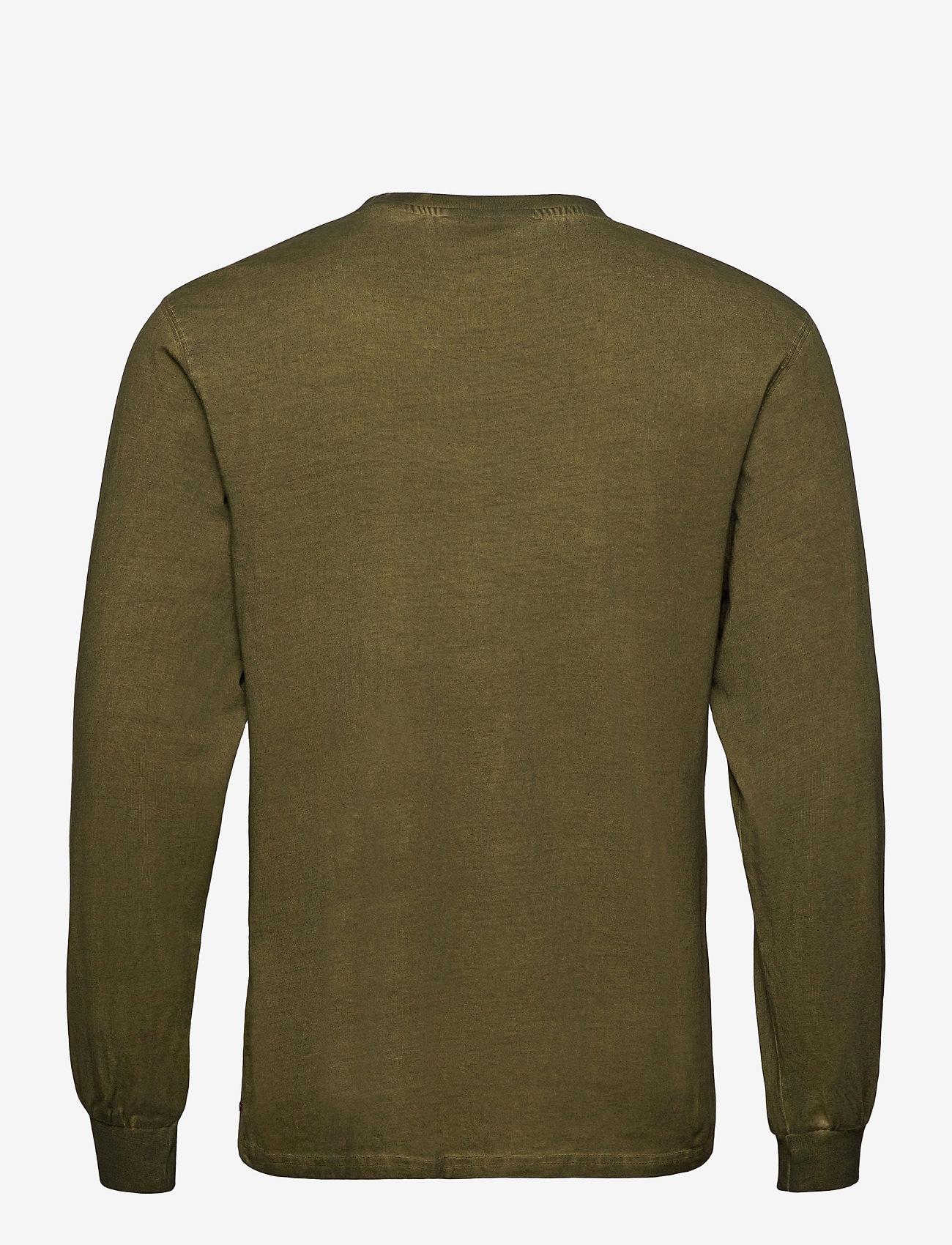 HAN Kjøbenhavn - Casual Long Sleeve Tee - basic t-shirts - green crush - 2