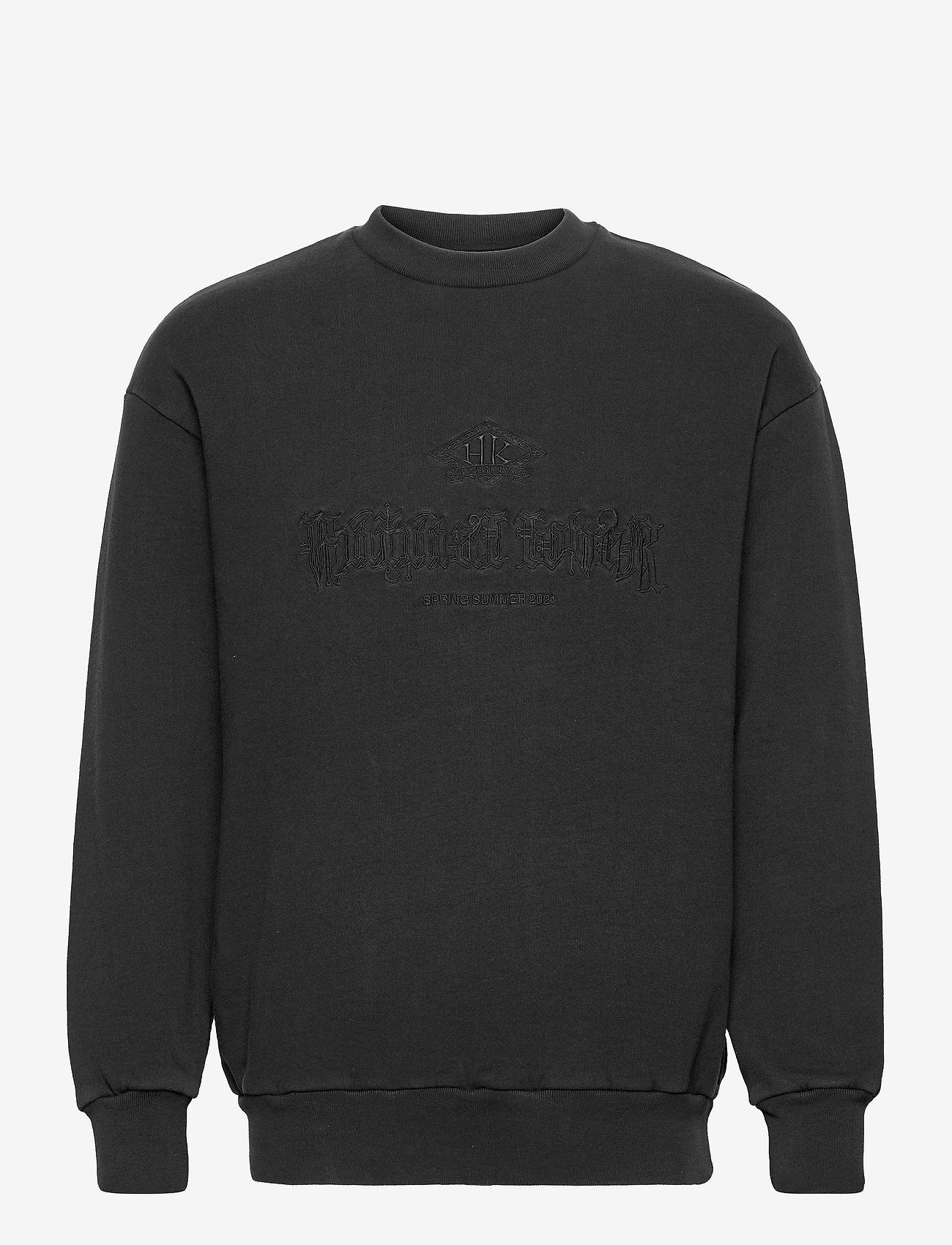 HAN Kjøbenhavn - Artwork Crew - basic sweatshirts - faded black - 0