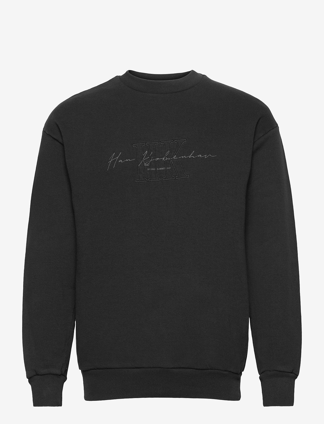 HAN Kjøbenhavn - Artwork Crew - truien - faded black hk - 0