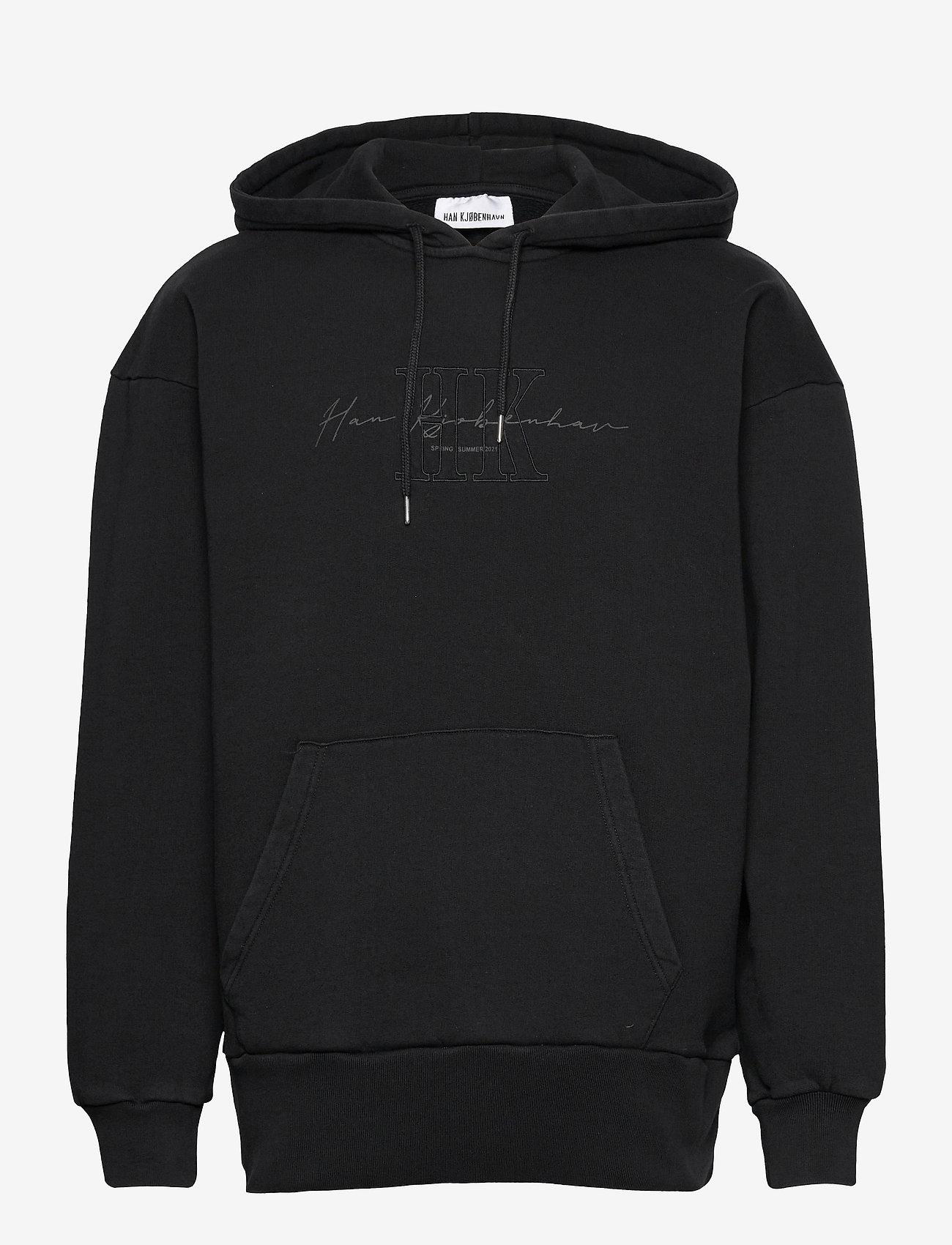 HAN Kjøbenhavn - Bulky Hoodie - hoodies - faded black hk - 1