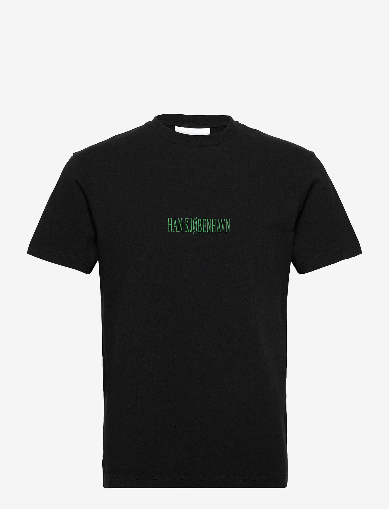 HAN Kjøbenhavn - Artwork Tee - basic t-shirts - faded black tribal - 0