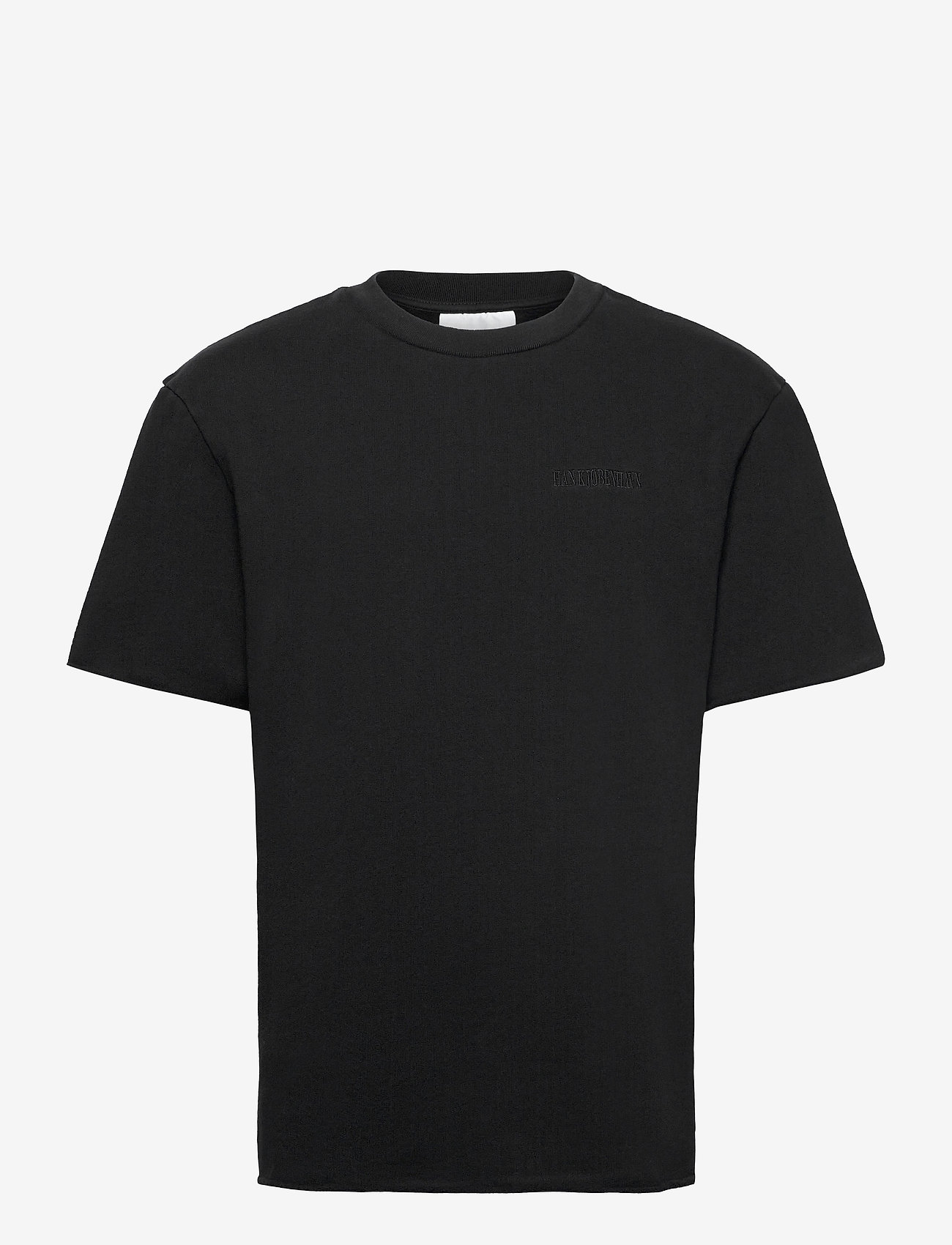 HAN Kjøbenhavn - Chunky Tee - basic t-shirts - faded black - 1