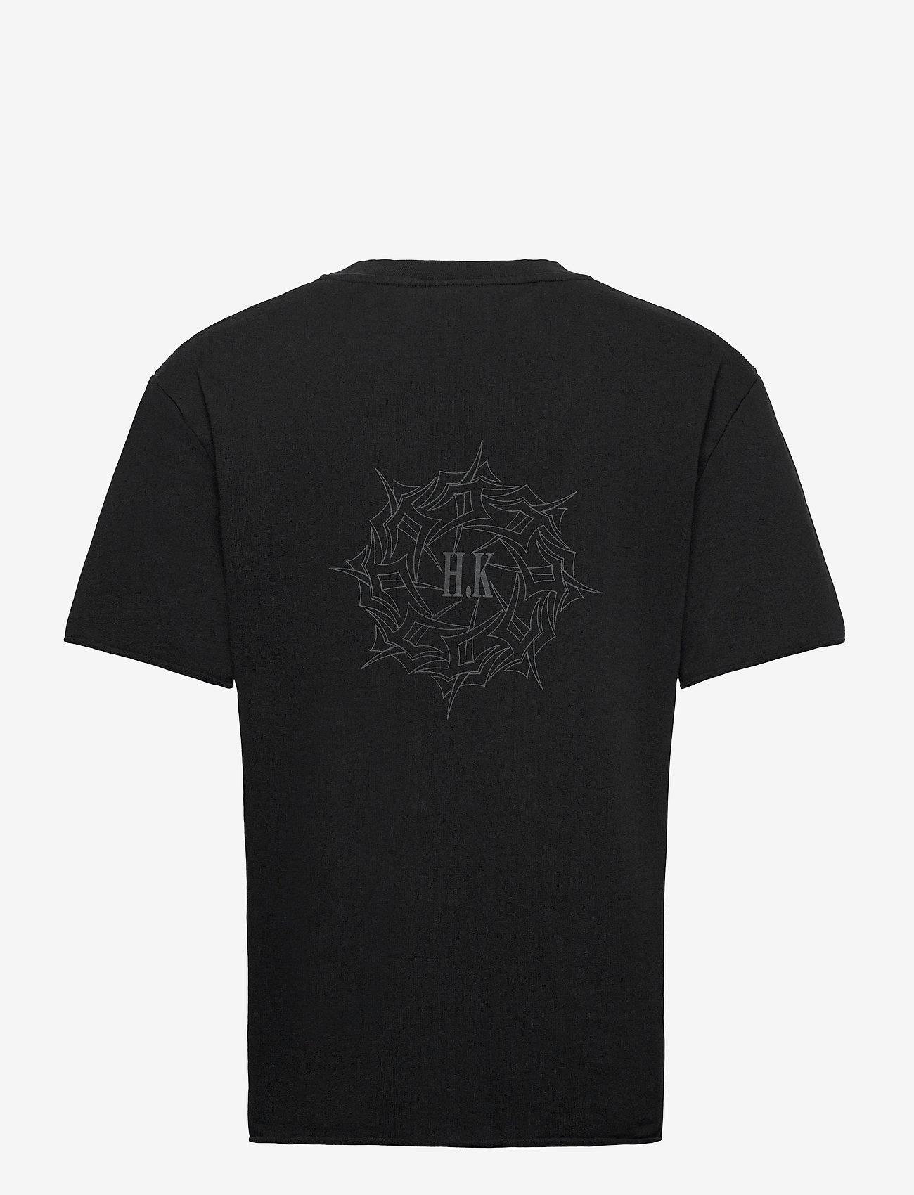HAN Kjøbenhavn - Chunky Tee - basic t-shirts - faded black - 2