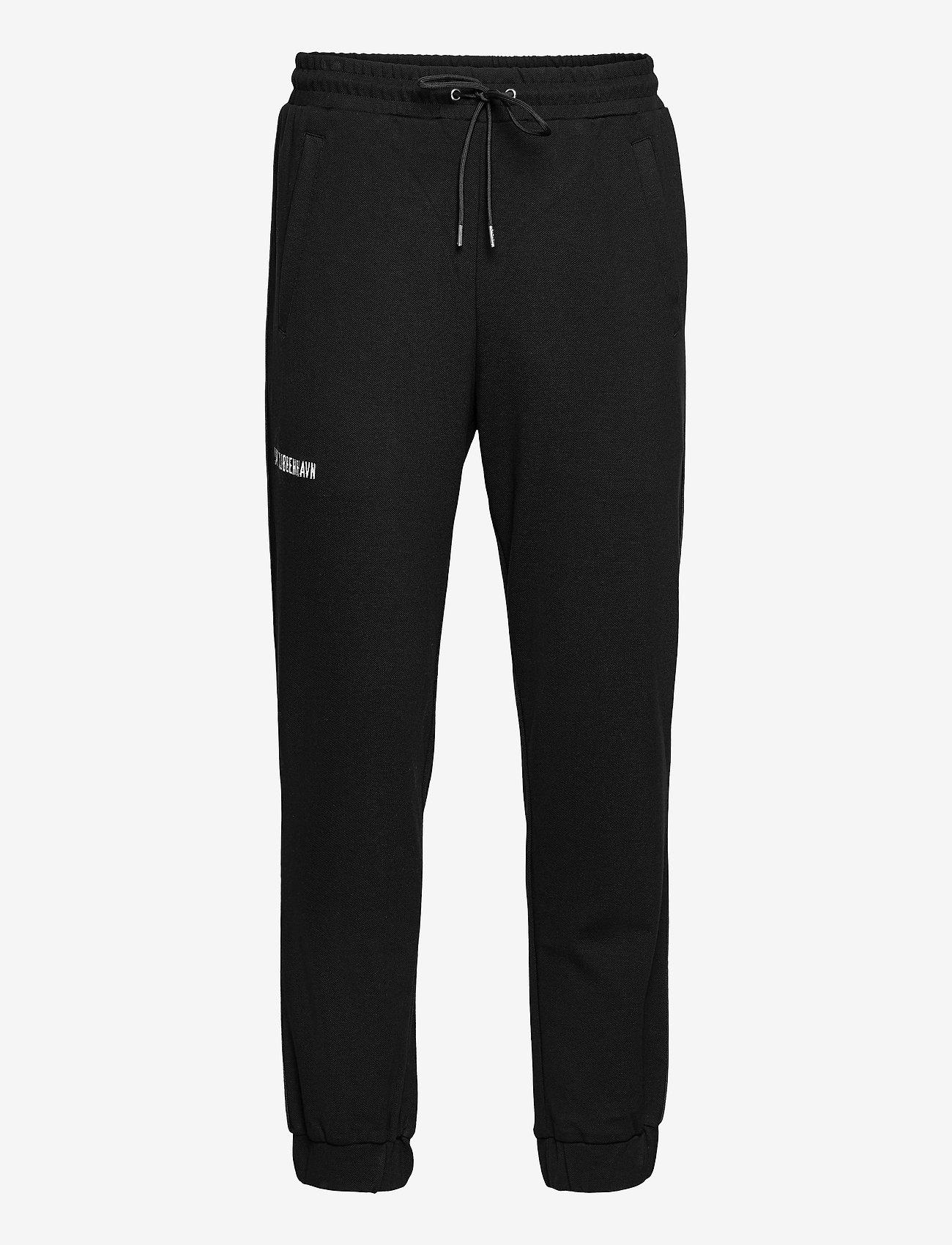 HAN Kjøbenhavn - Track Pants - kleding - black pique - 0