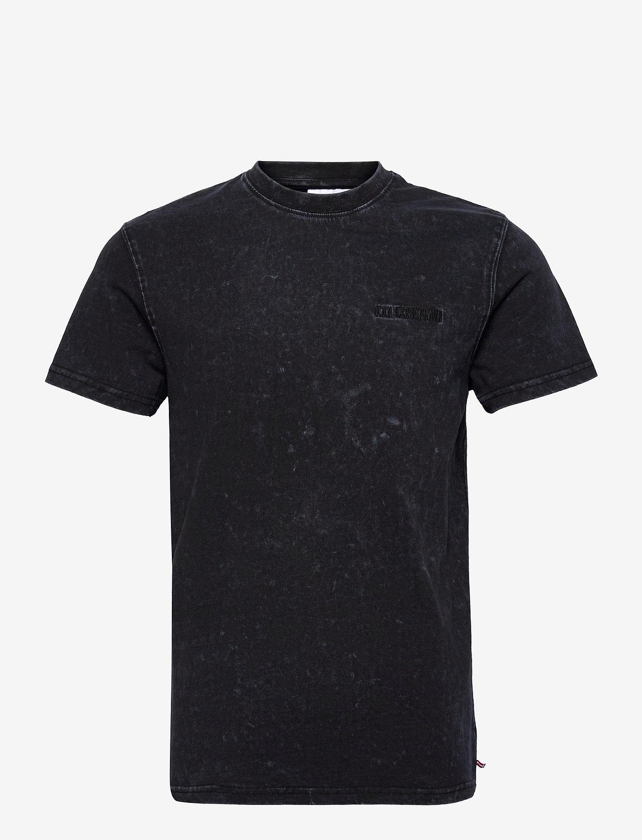 HAN Kjøbenhavn - Casual Tee - basic t-shirts - denim blue acid - 0