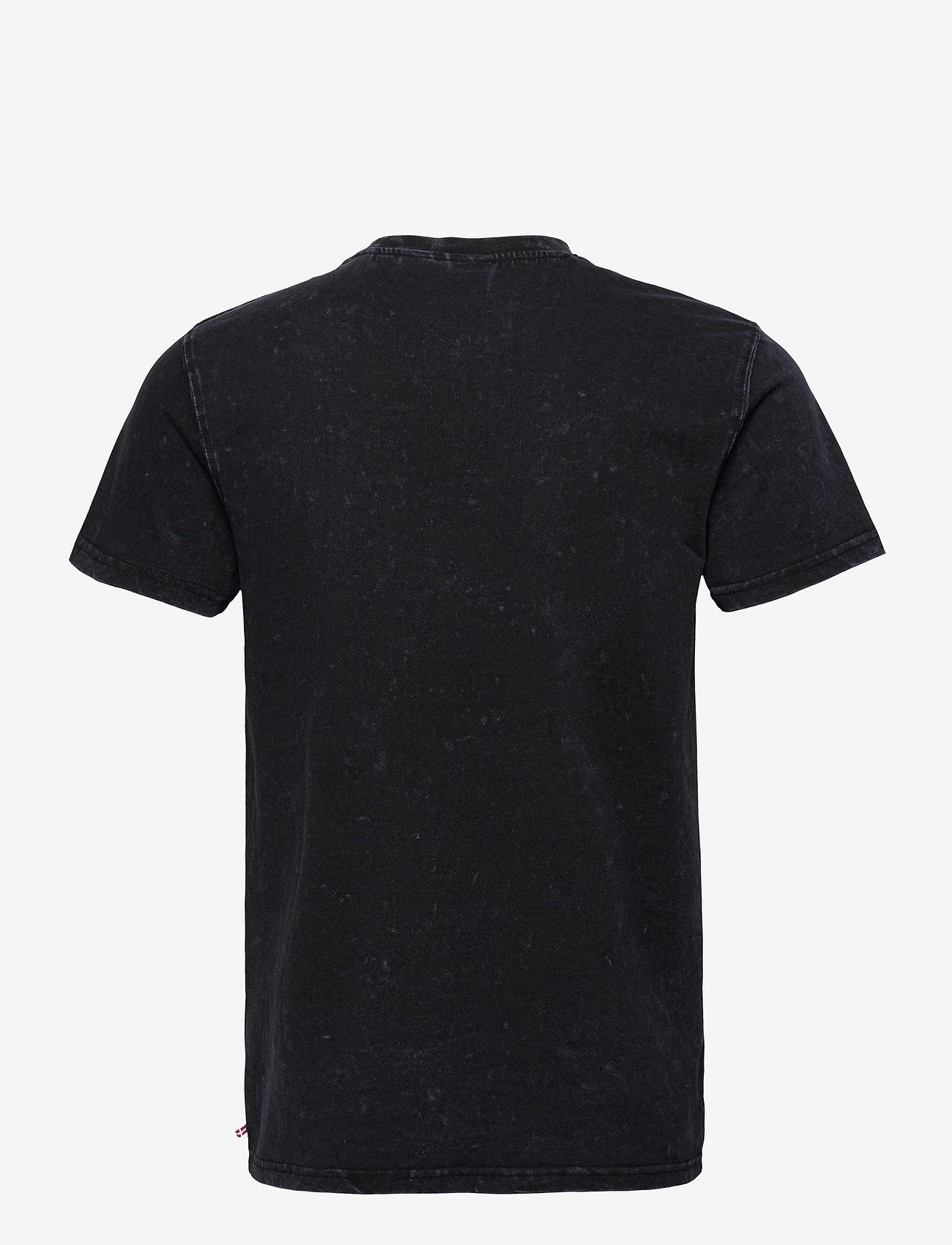 HAN Kjøbenhavn - Casual Tee - basic t-shirts - denim blue acid - 1
