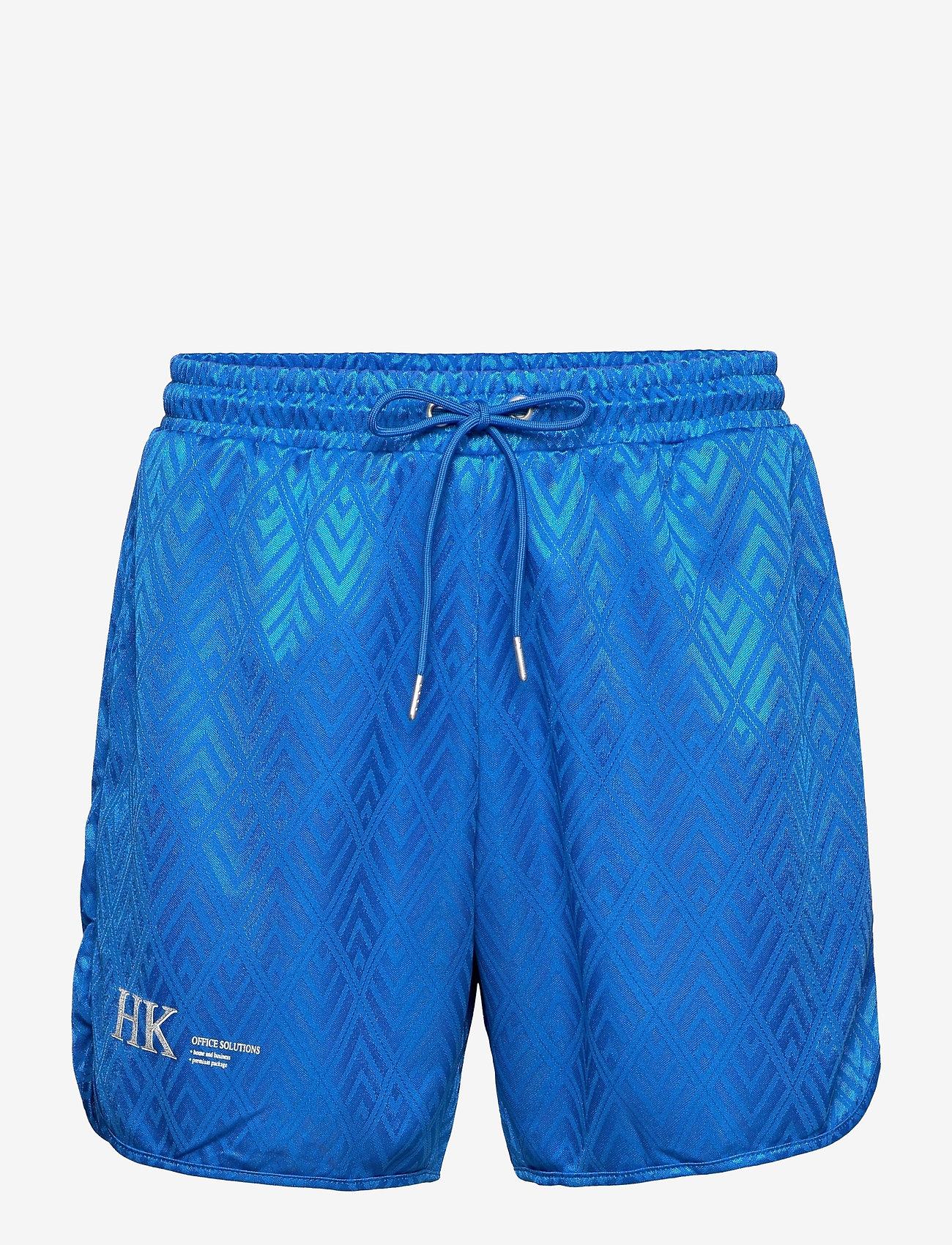 HAN Kjøbenhavn - Football Shorts - casual shorts - bright blue - 0