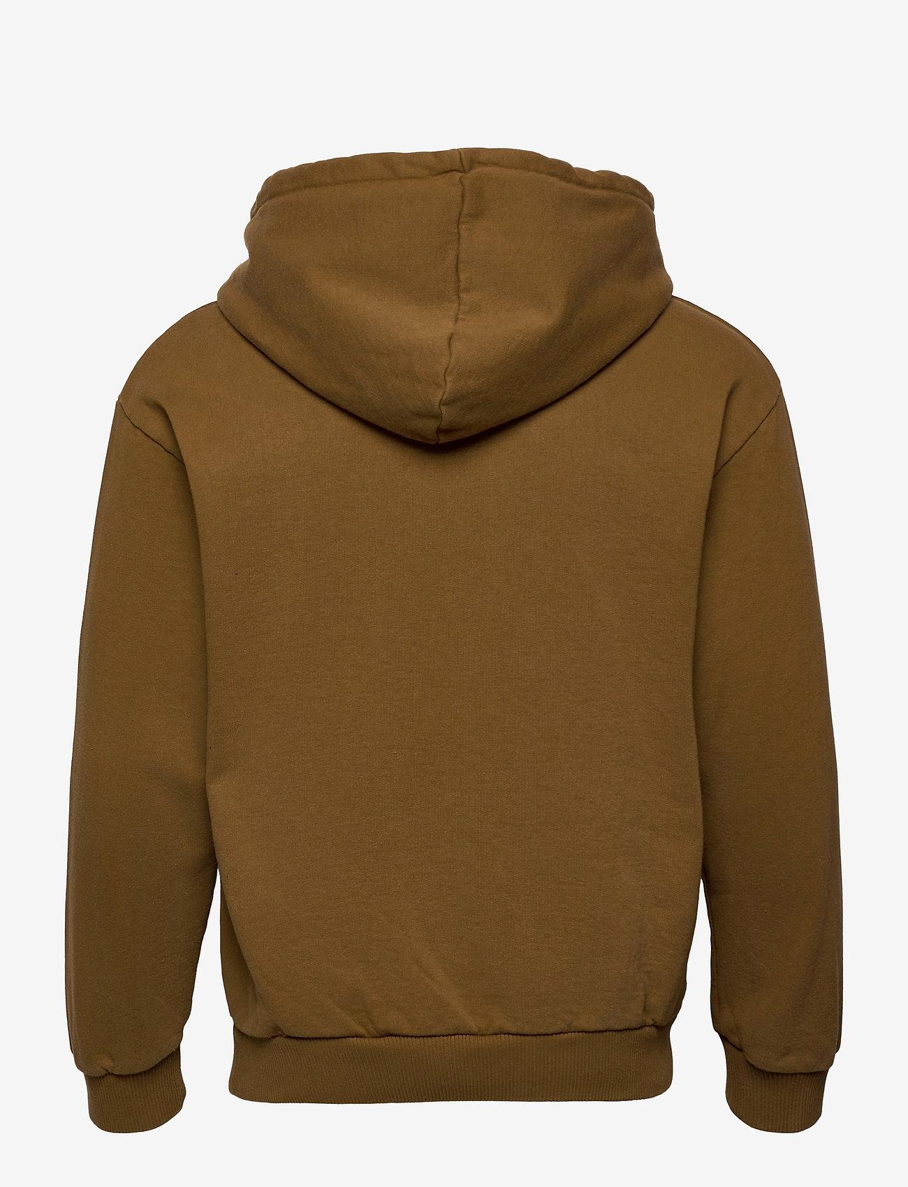 HAN Kjøbenhavn - Artwork Hoodie - hoodies - bronze brown - 1