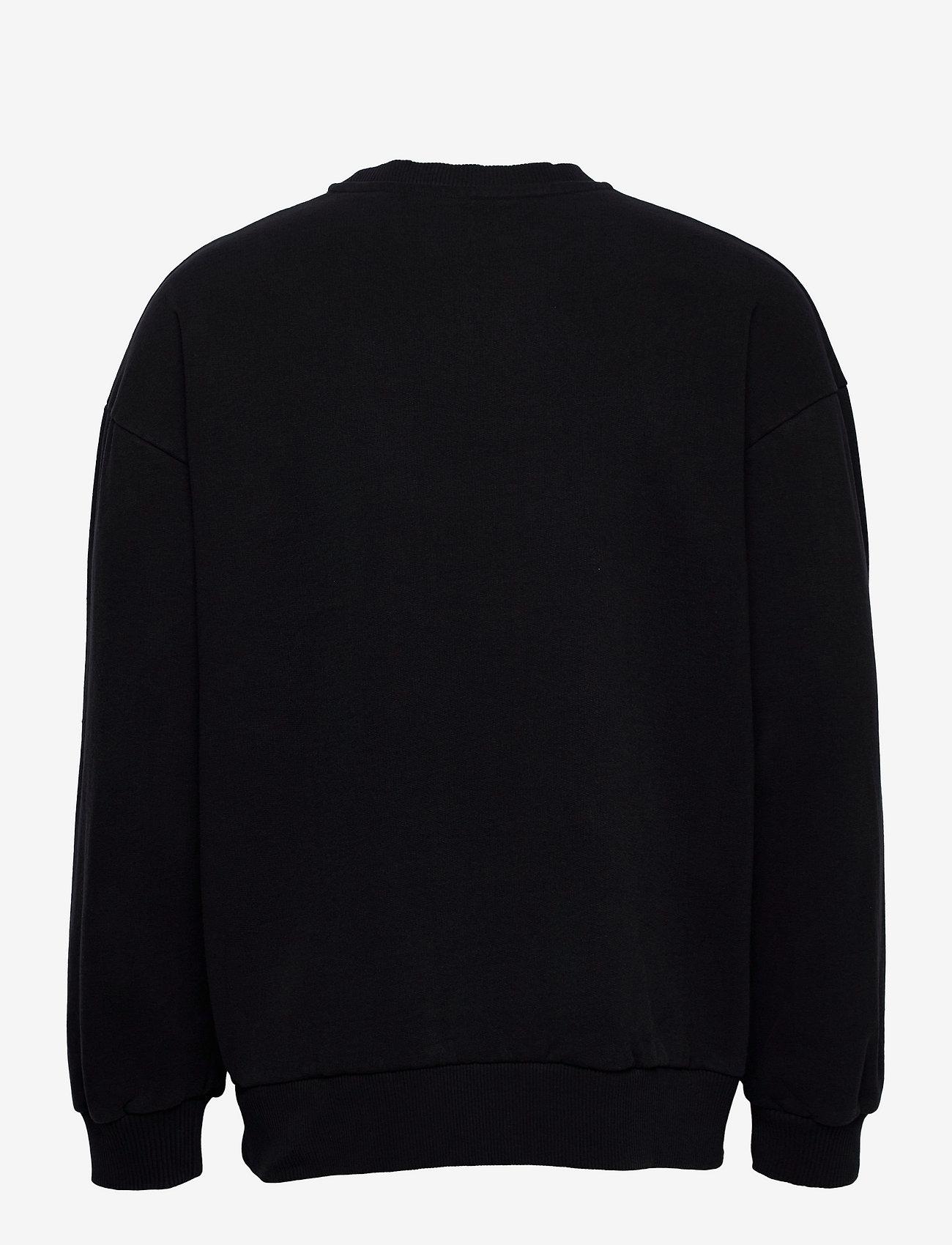 HAN Kjøbenhavn - Bulky Crew - truien - faded black - 1