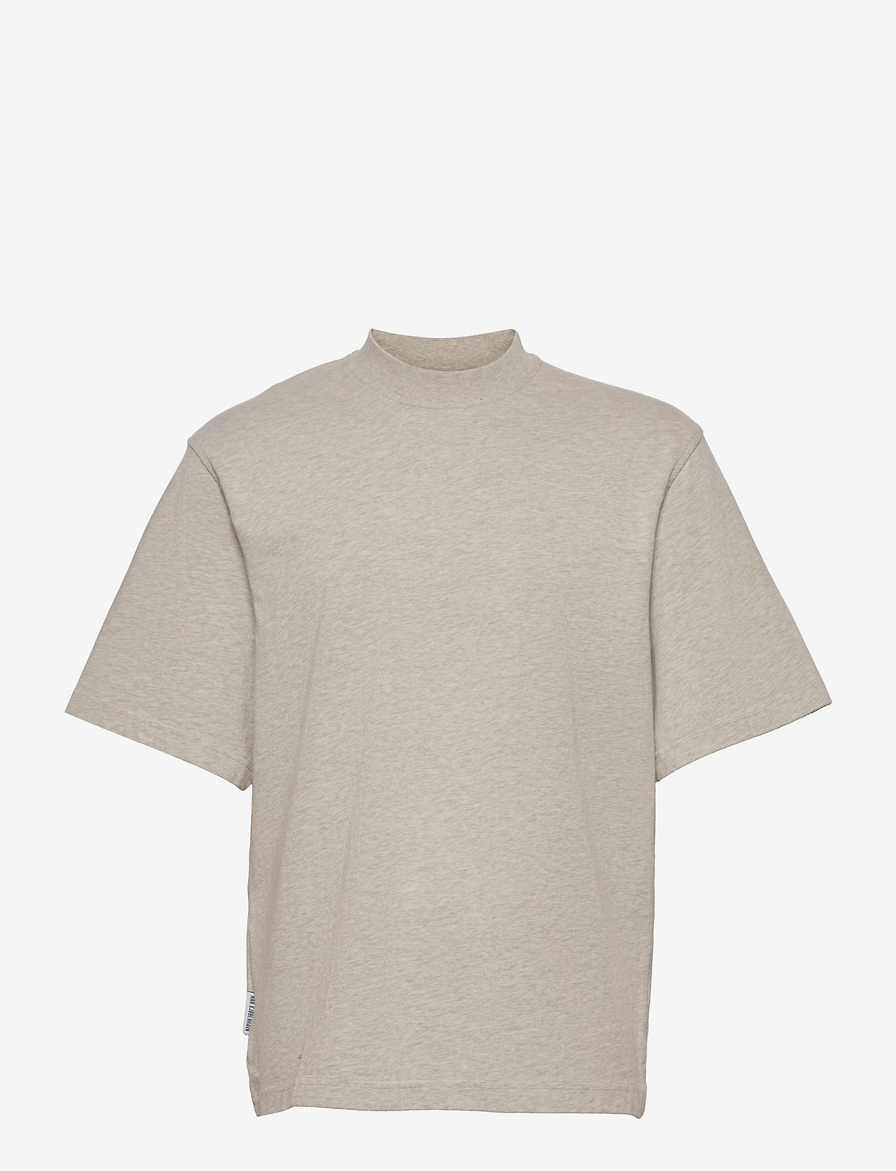 HAN Kjøbenhavn - Distressed Tee Short Sleeve - basic t-shirts - distressed grey melange - 0