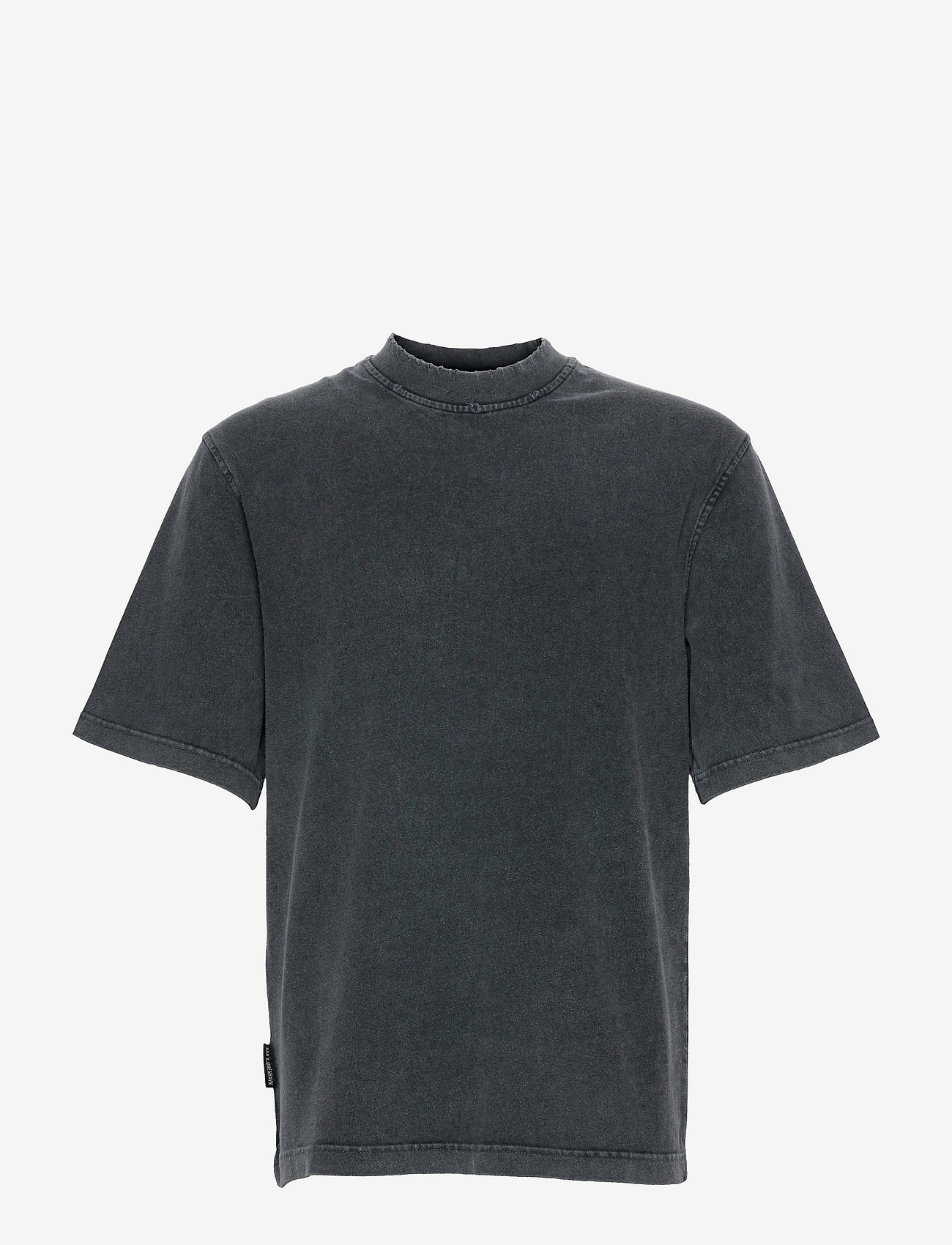 HAN Kjøbenhavn - Distressed Tee Short Sleeve - basic t-shirts - distressed dark grey - 0