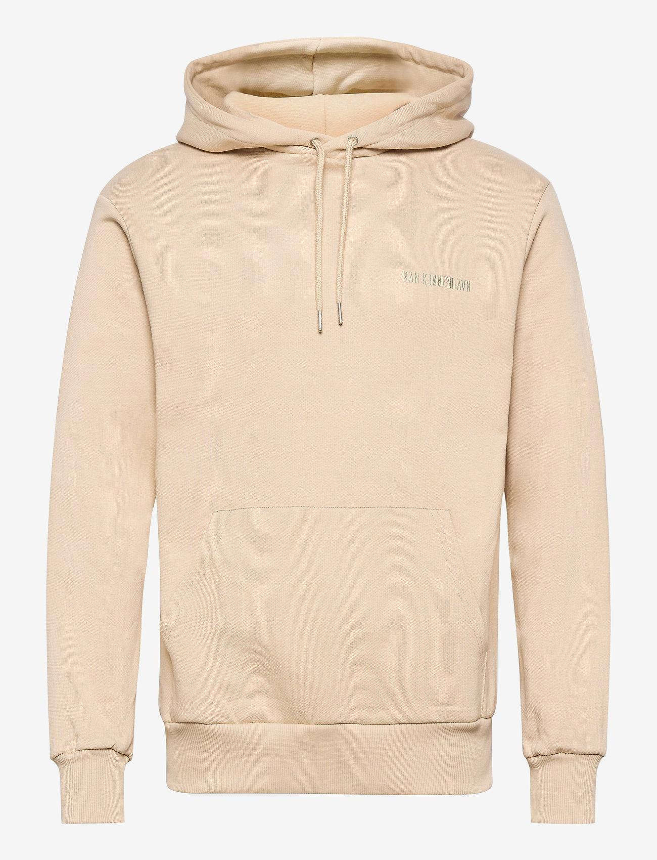HAN Kjøbenhavn - Casual Hoodie - basic sweatshirts - sand - 0