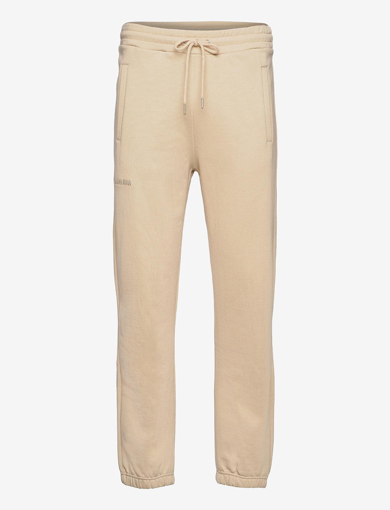 HAN Kjøbenhavn - Sweatpants - kleding - sand - 0