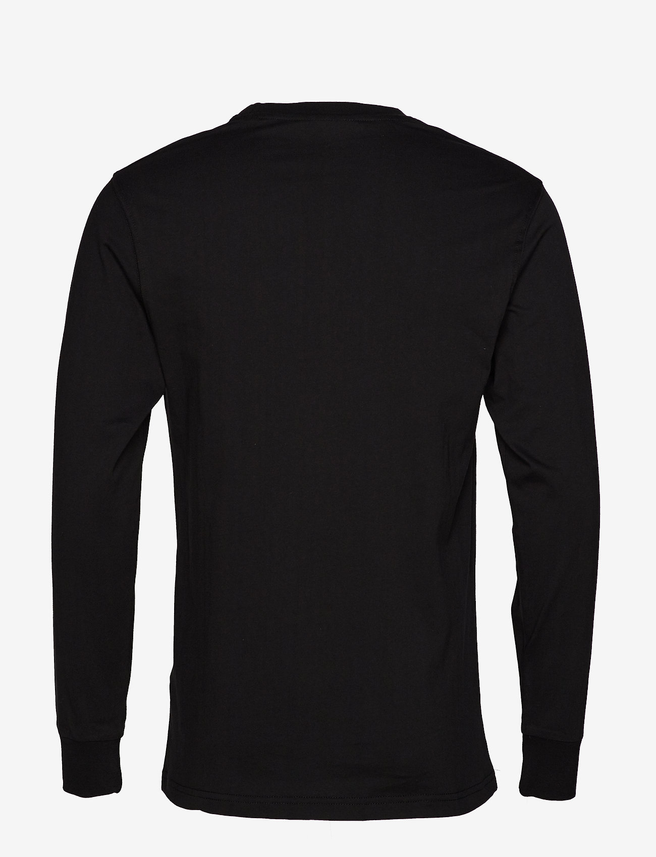 HAN Kjøbenhavn - Casual Long Sleeve Tee - basic t-shirts - black logo - 2