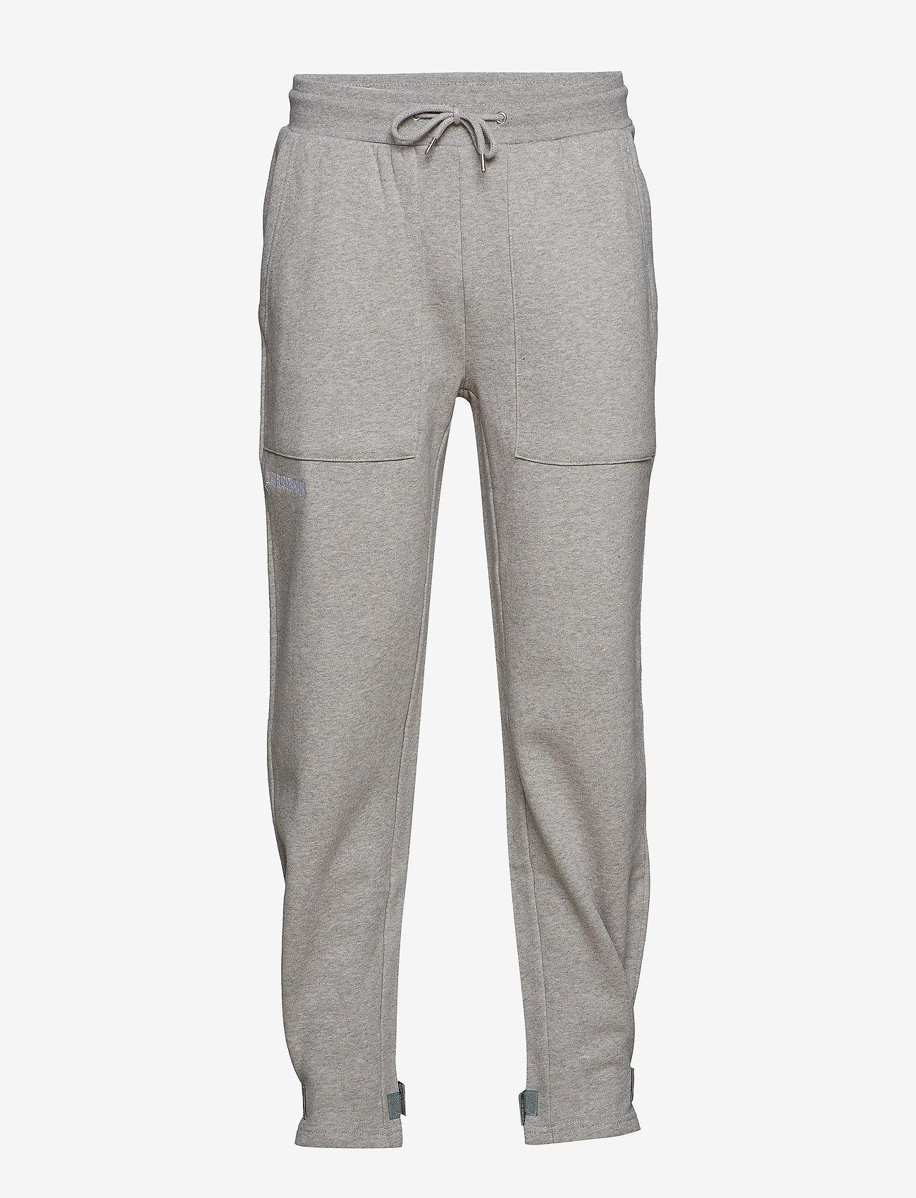 HAN Kjøbenhavn - Sweat Pants - kleding - grey logo - 1