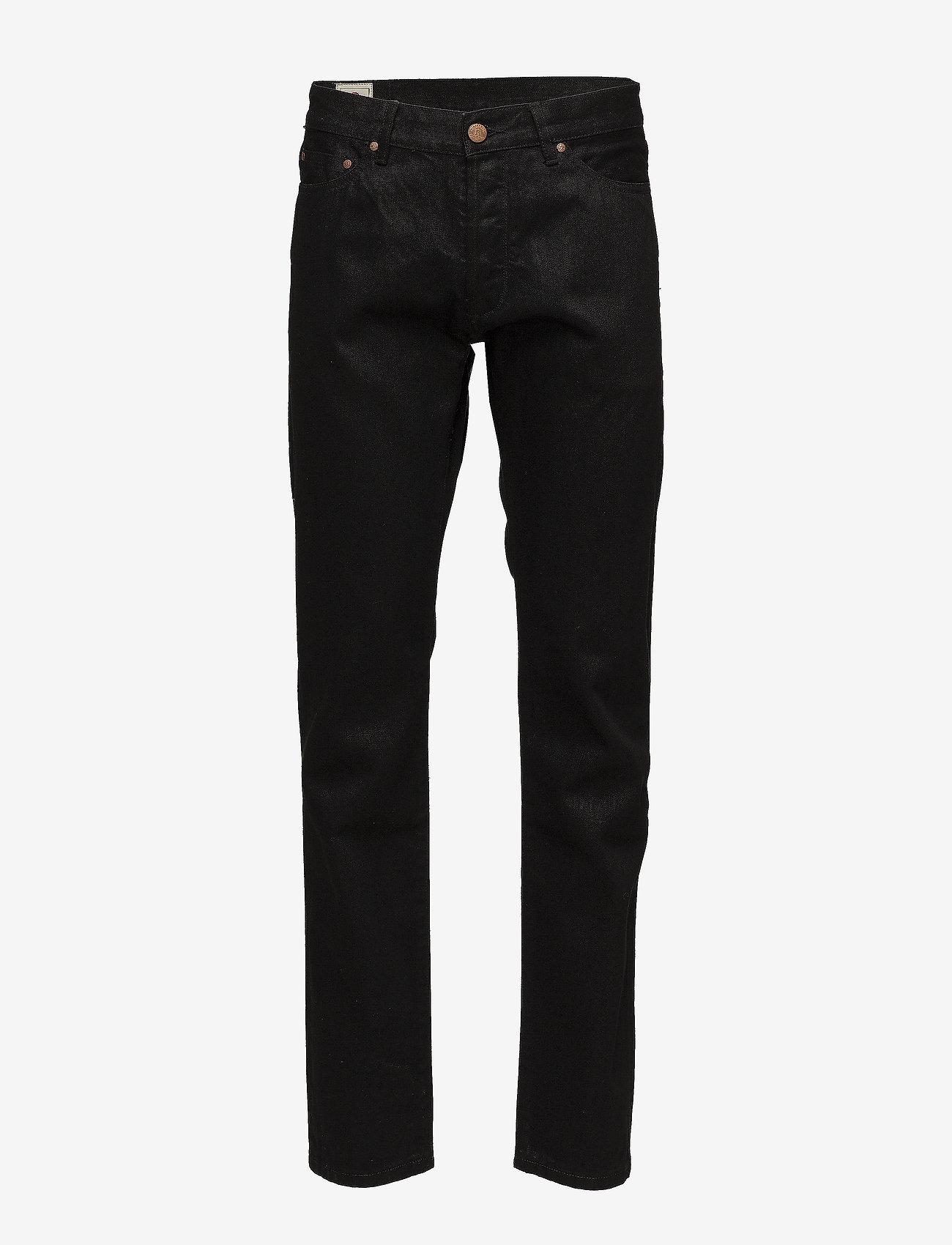 HAN Kjøbenhavn - Tapered Jeans - regular jeans - black black - 0