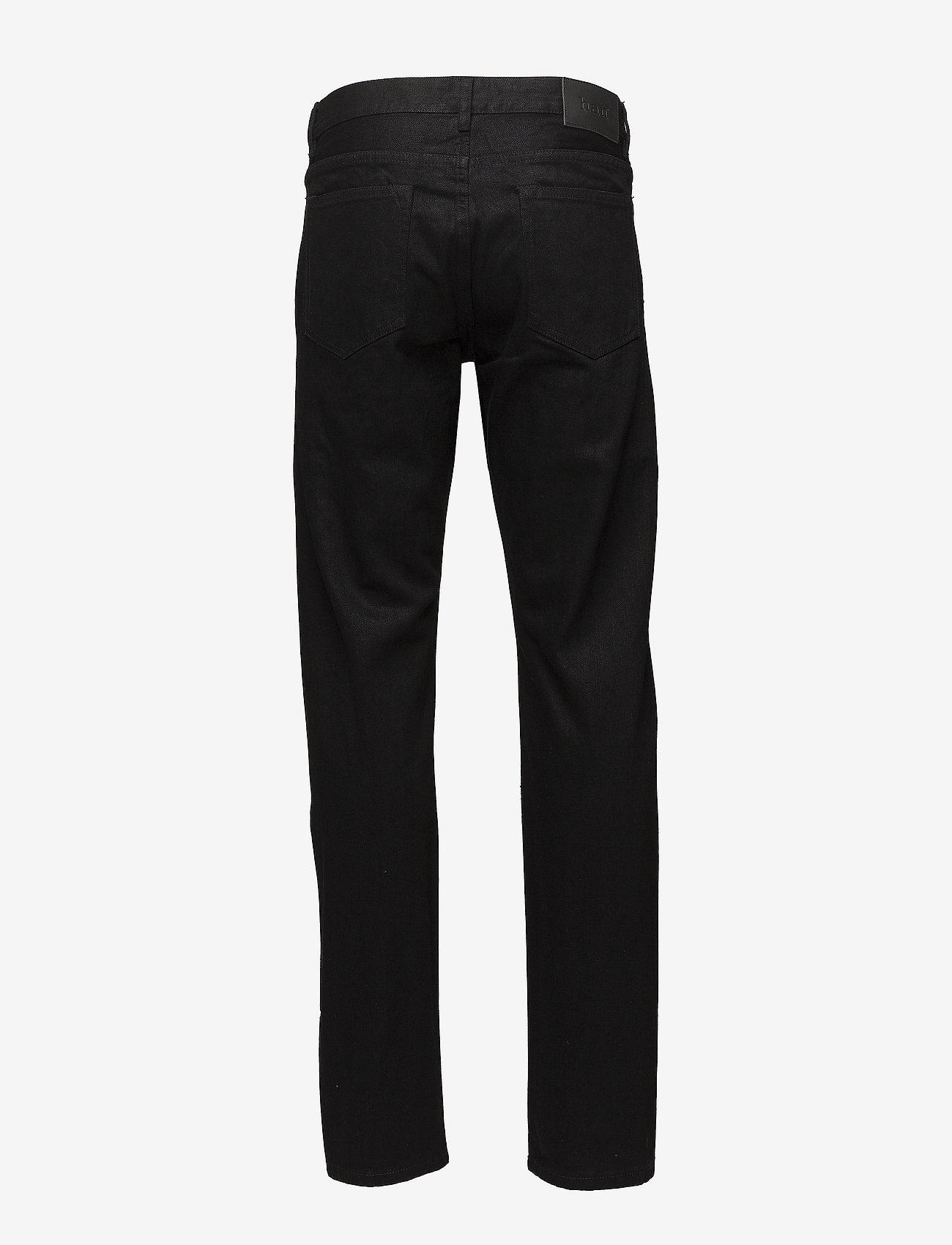 HAN Kjøbenhavn - Tapered Jeans - regular jeans - black black - 1