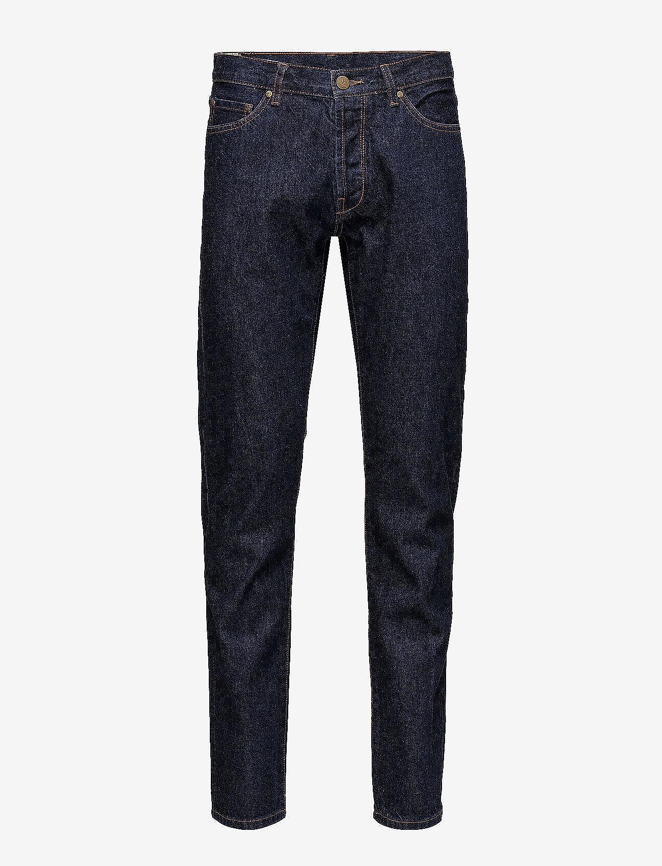 HAN Kjøbenhavn - Tapered Jeans - regular jeans - medium blue - 0