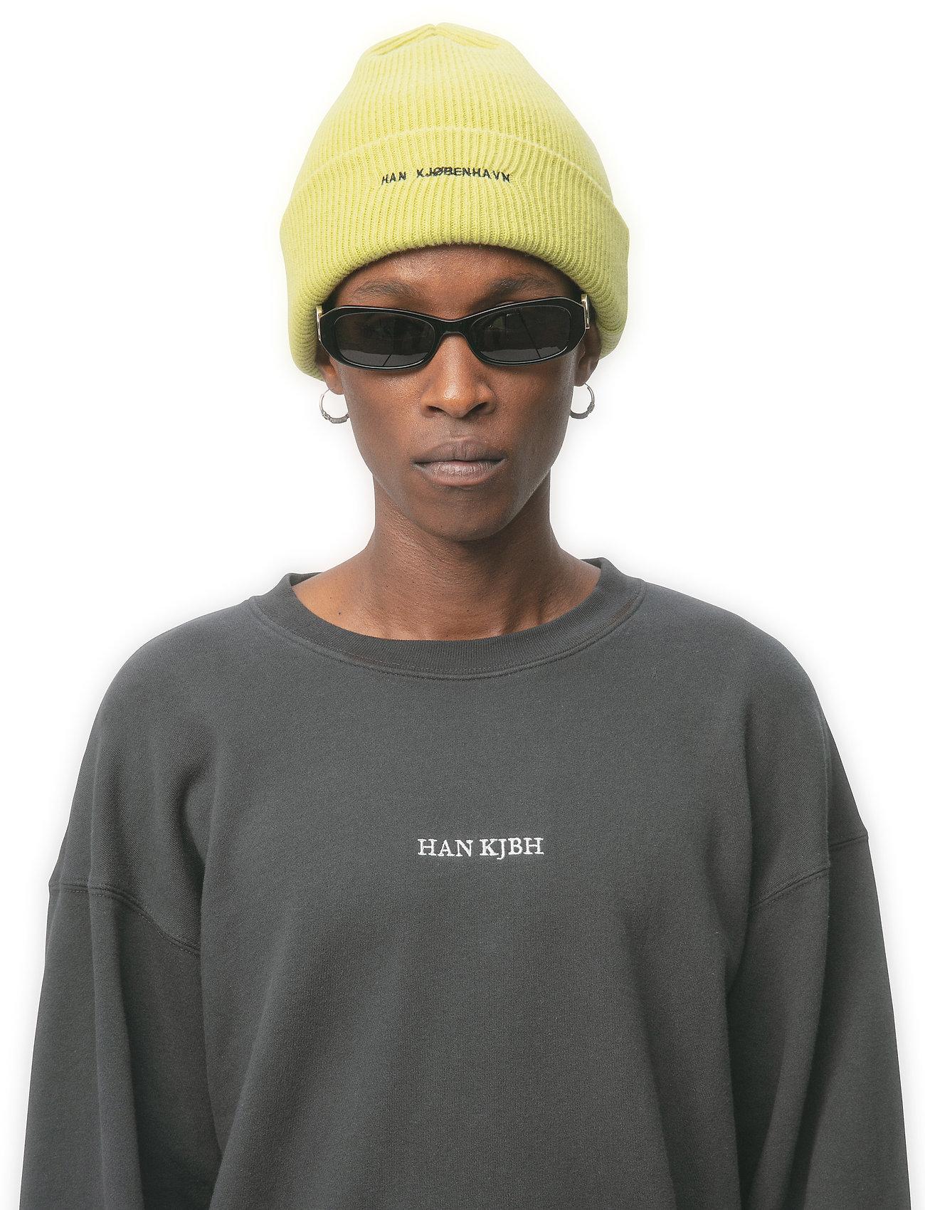 HAN Kjøbenhavn - Beanie Logo - bonnet - lime - 0
