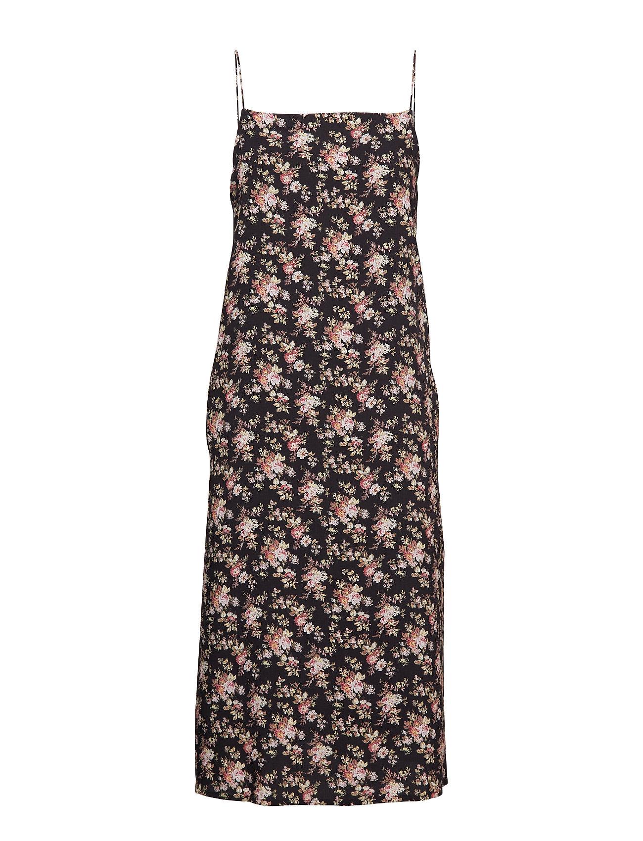 HAN Kjøbenhavn Summer Dress - BLACK FLOWER