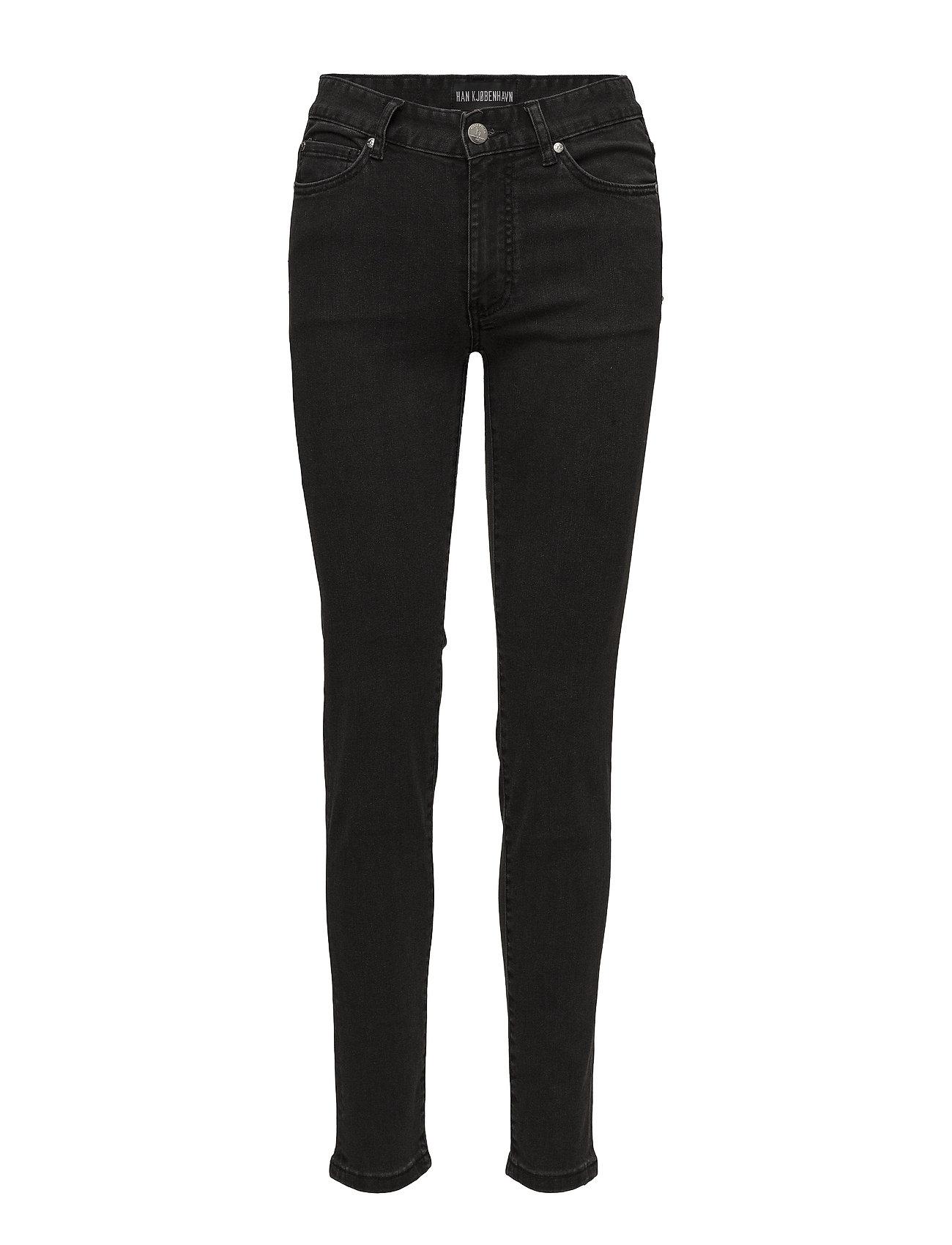 HAN Kjøbenhavn Skinny Jeans - BLACK STONE
